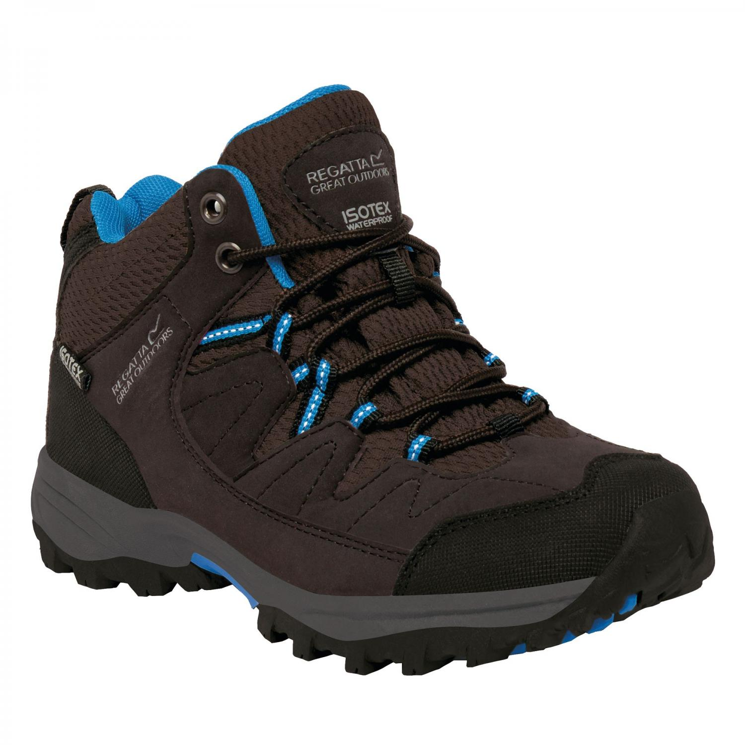 Holcombe Mid Junior Walking Boot Peat Blue