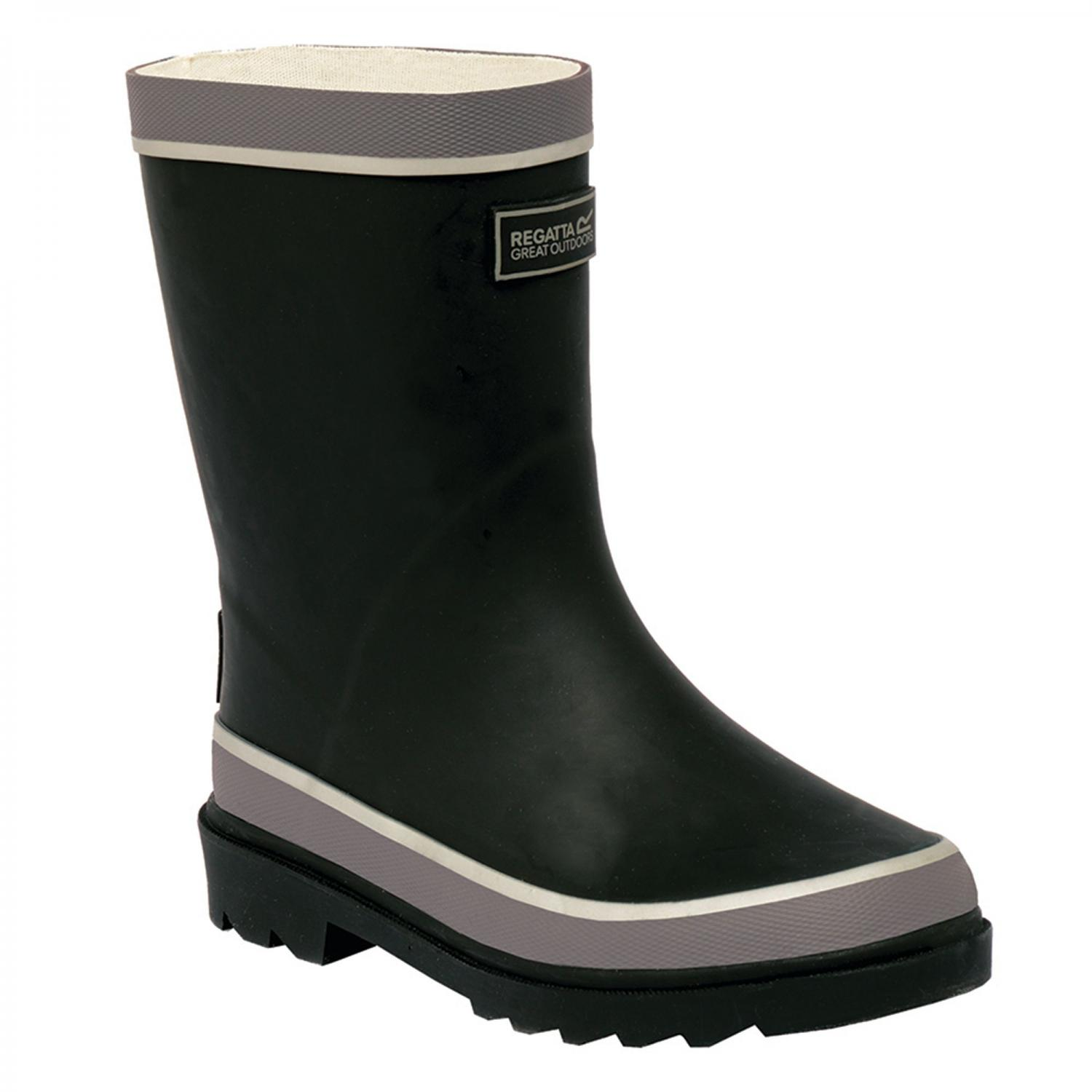 Foxfire Junior Wellington Boot Black