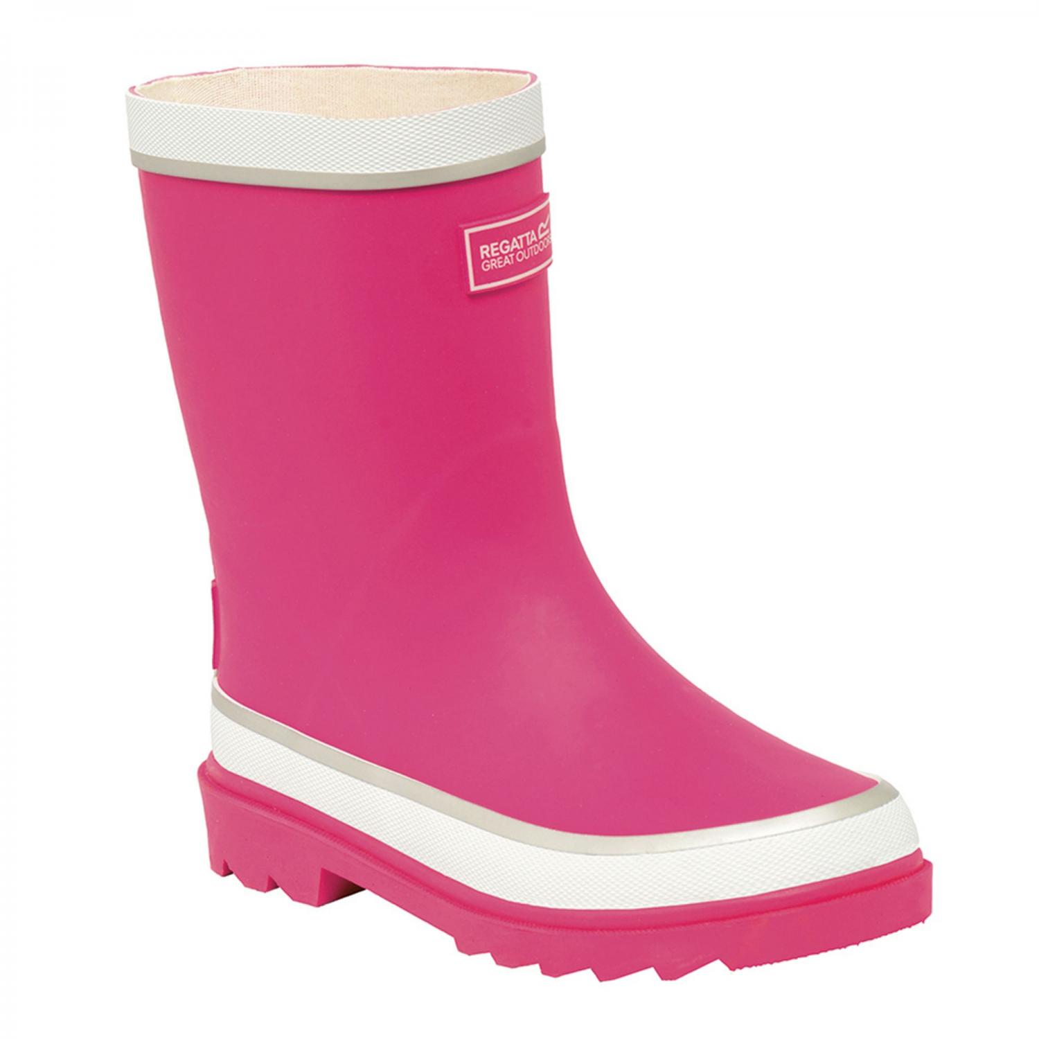 Foxfire Junior Wellington Boot Jem White