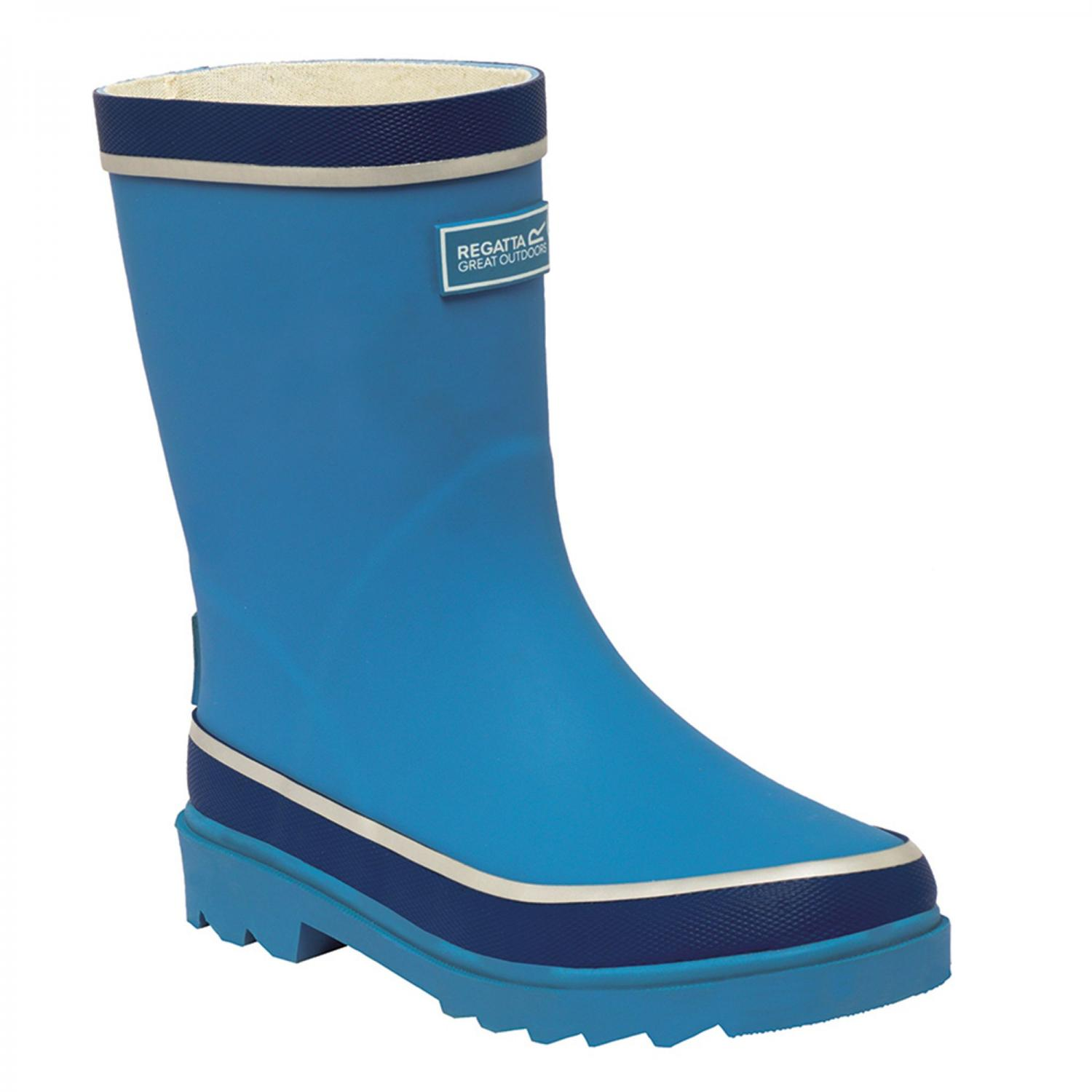 Foxfire Junior Wellington Boot Methyl Blue