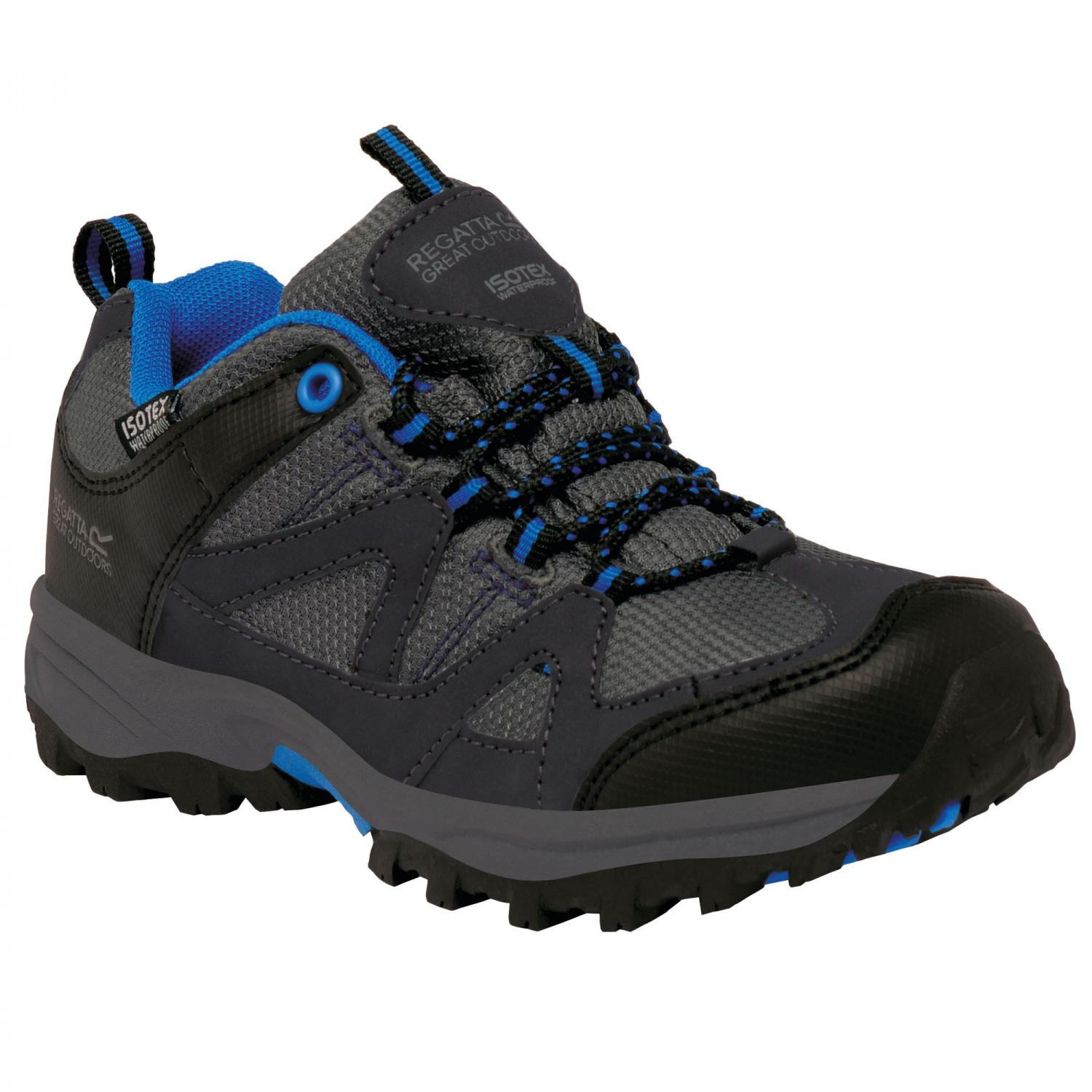 Gatlin Low Junior Walking Shoe Granit Blue