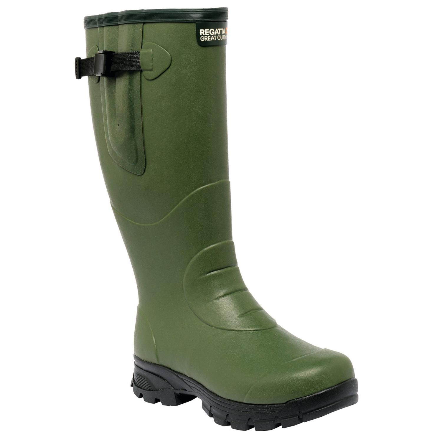 Loxleigh Wellington Boots Deep Green