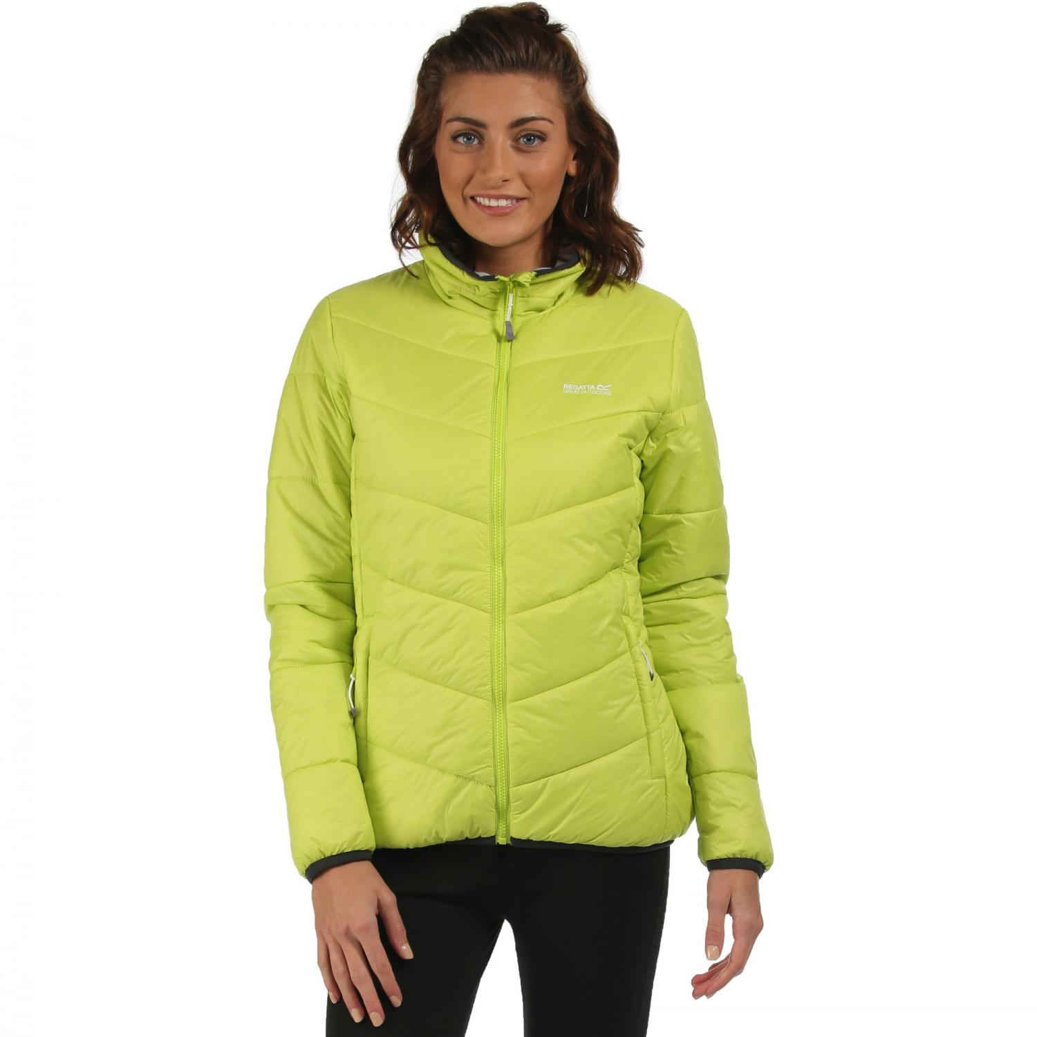 Womens Icebound Jacket Lime Zest