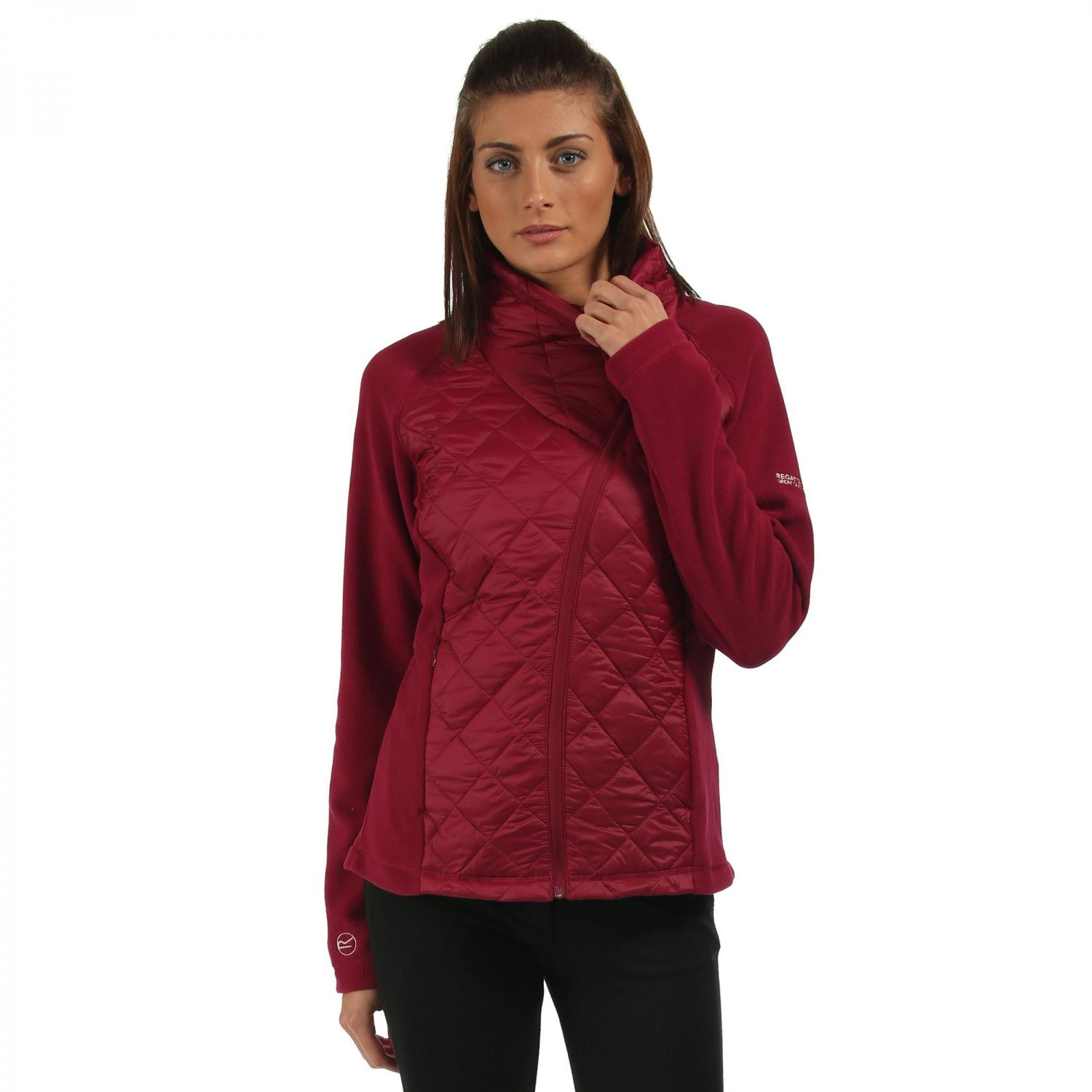 Womens Chilton Hybrid Jacket Beetroot