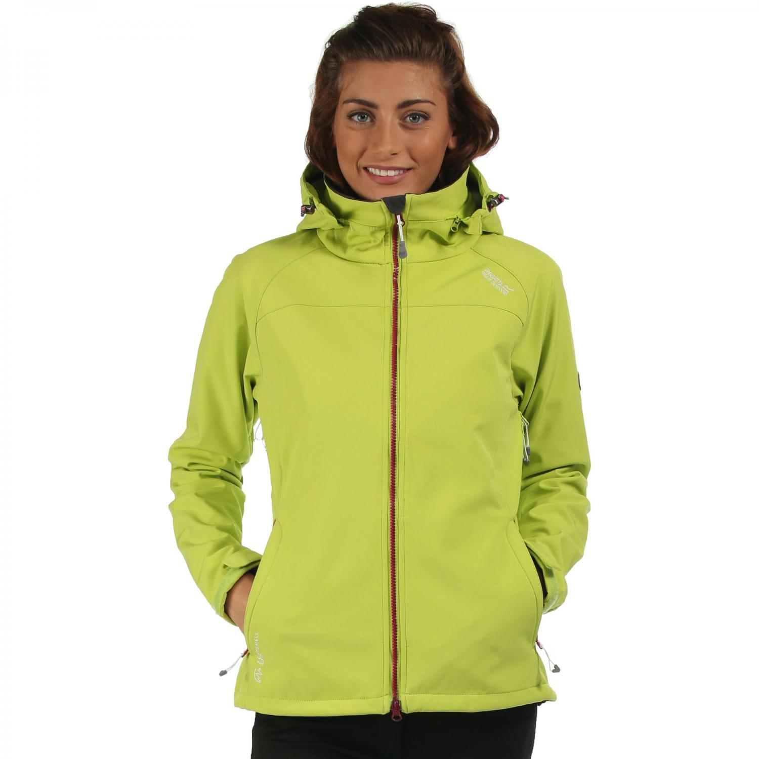 Desoto II Softshell Jacket Lime Zest Steel
