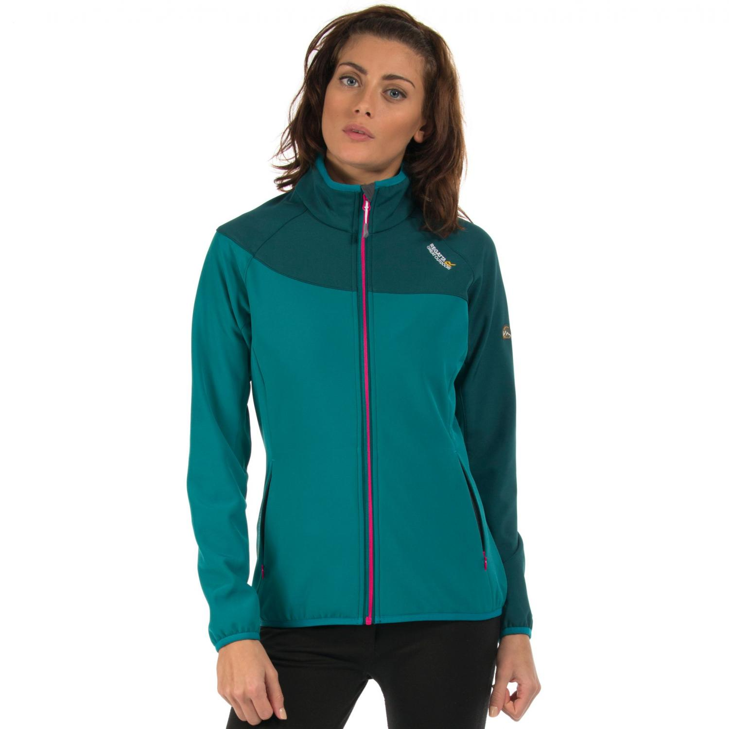 Womens Nebraska IV Softshell Jacket Deep Teal