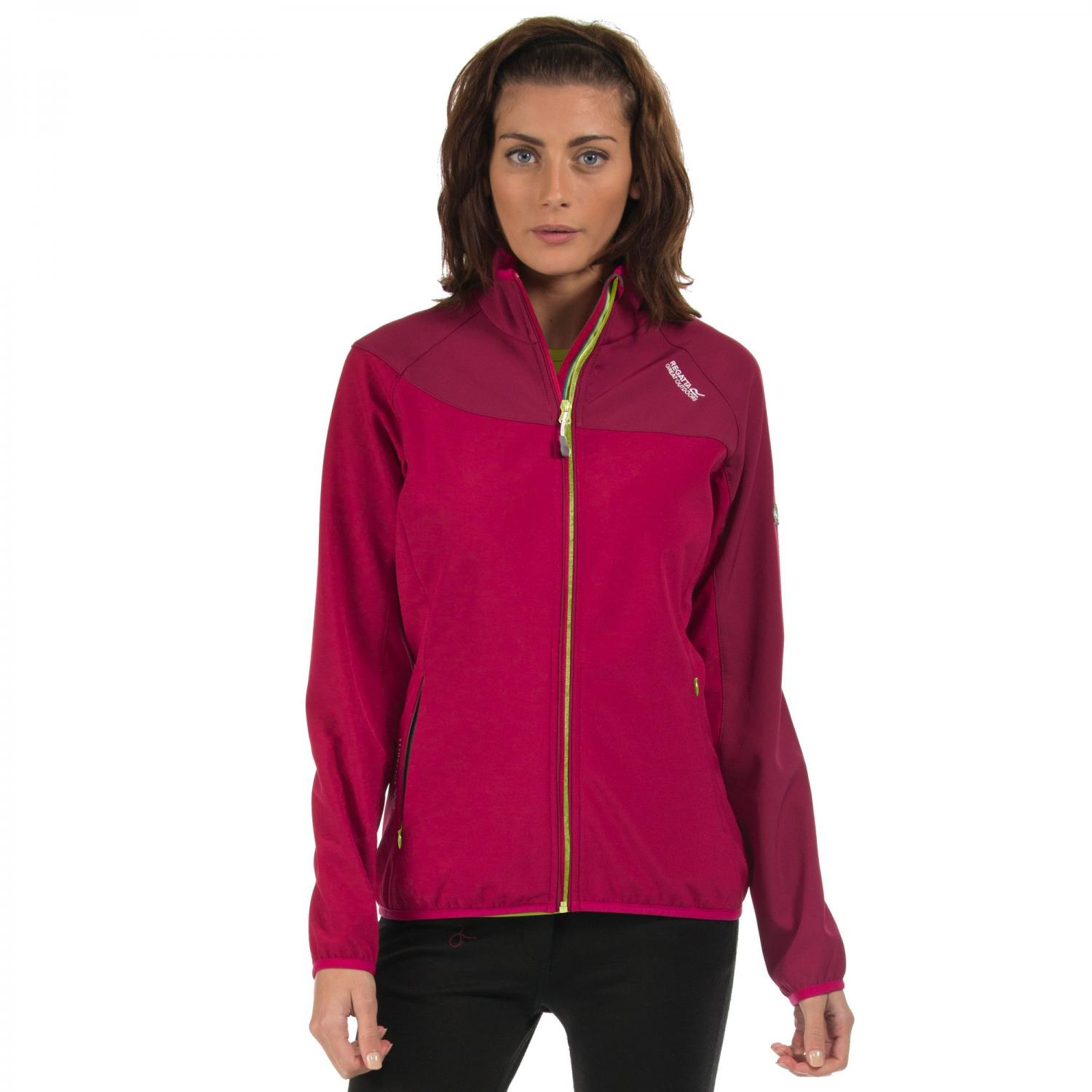 Clothing Accessories Womens Nebraska IV Softshell Jacket Beetroot Cerise