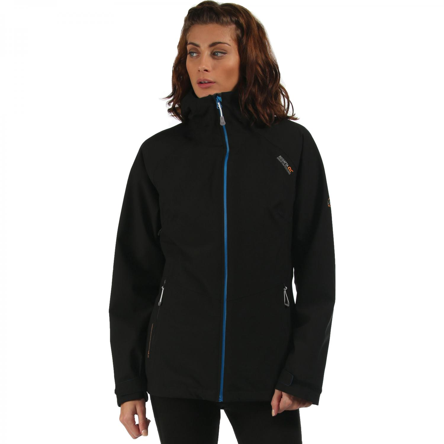 Womens Wentwood 3 in 1 Jacket Black Petrol