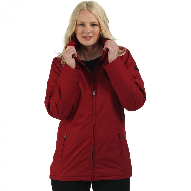 Myrtle Jacket Rhubarb Red
