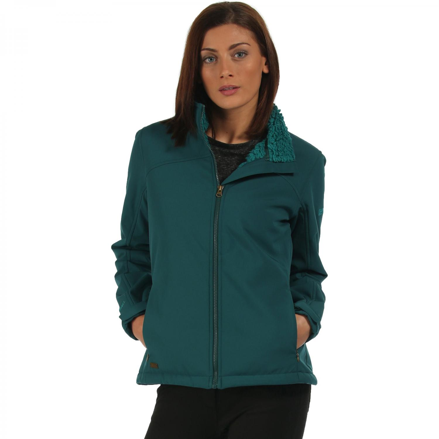 Tulsie Softshell Jacket Deep Teal