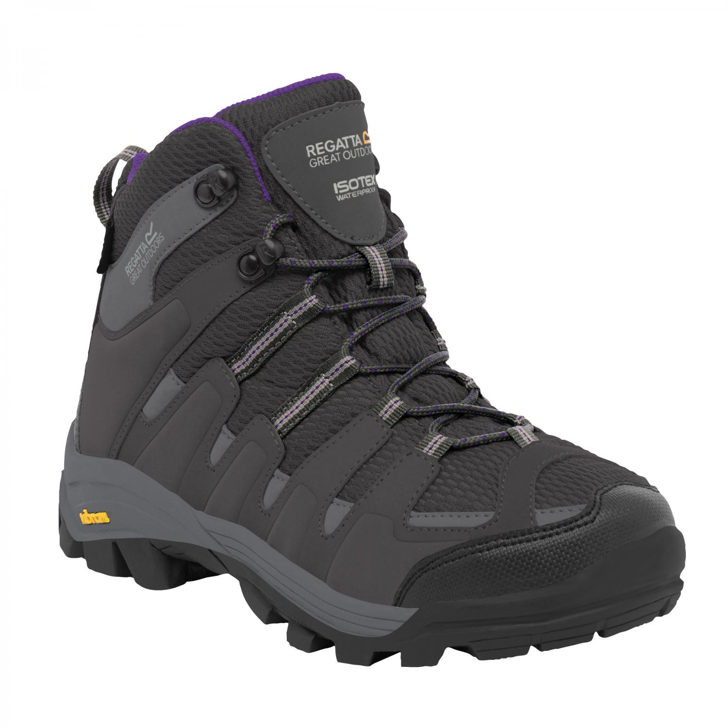 Lady Burrell Hiking Boot Steel Purple