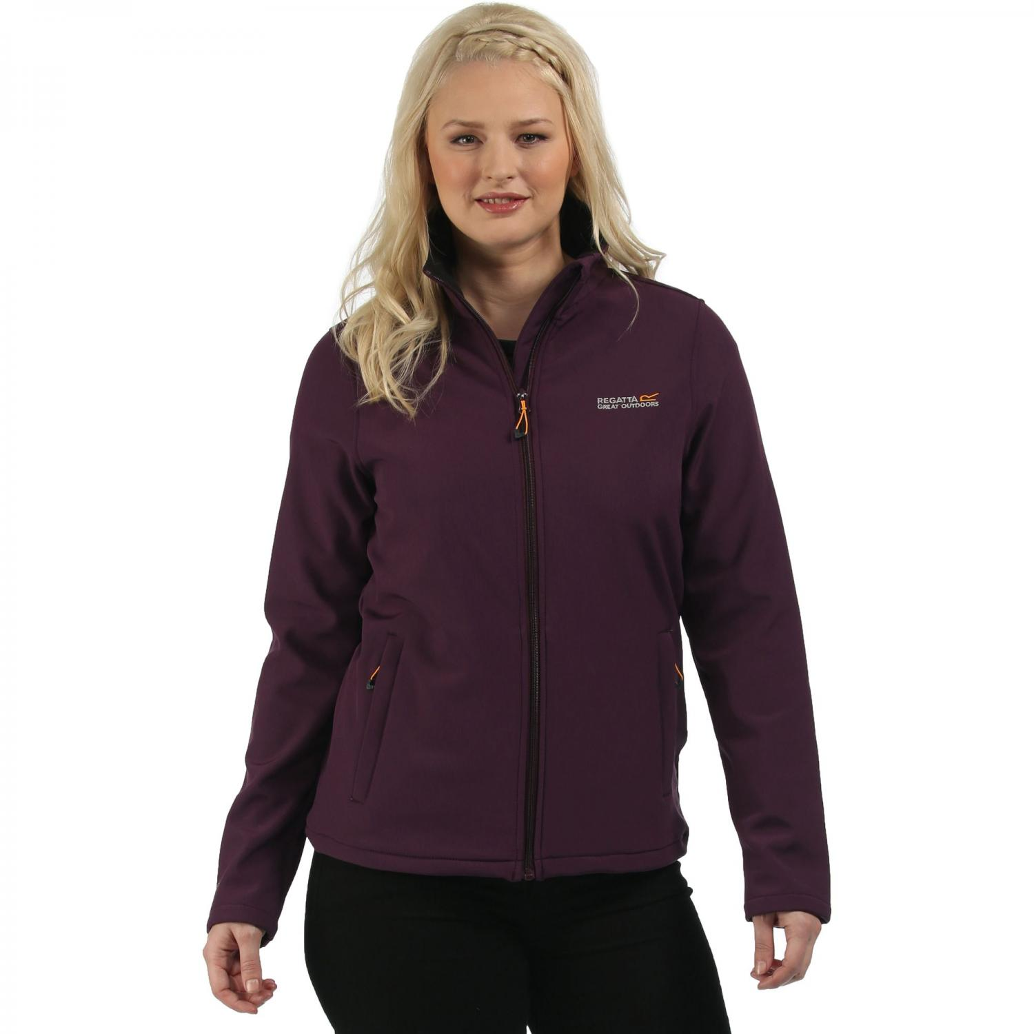 Connie III Softshell Jacket Blackberry Wine