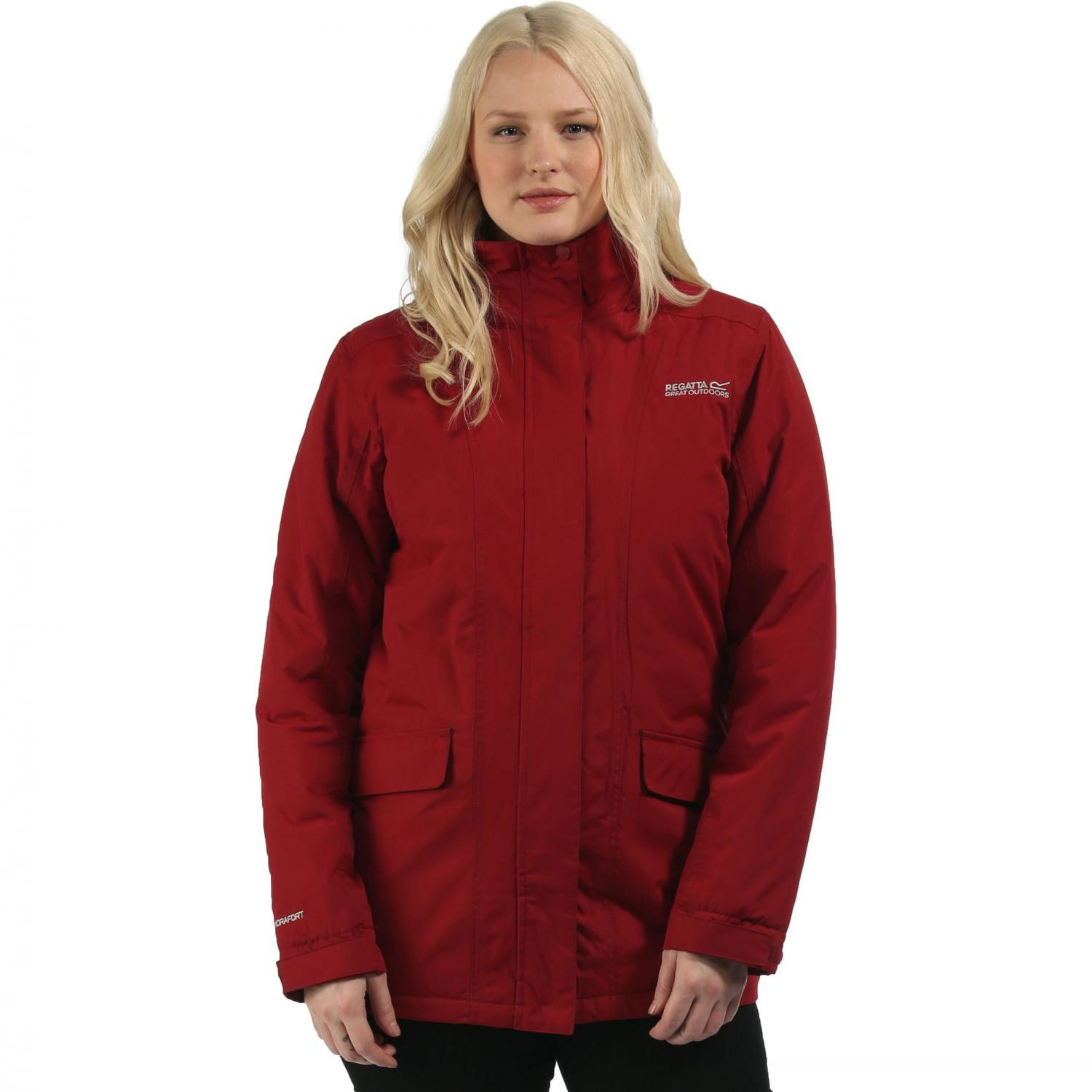 Blanchet Jacket Rhubarb Red