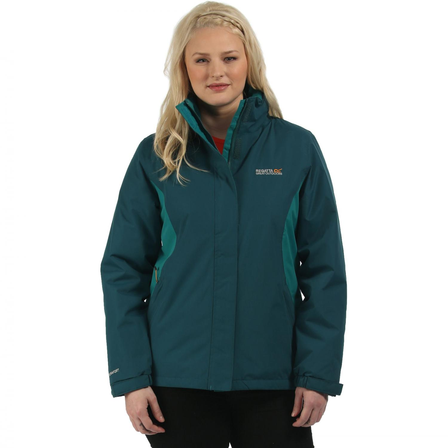 Kenzie Jacket Deep Teal Lake