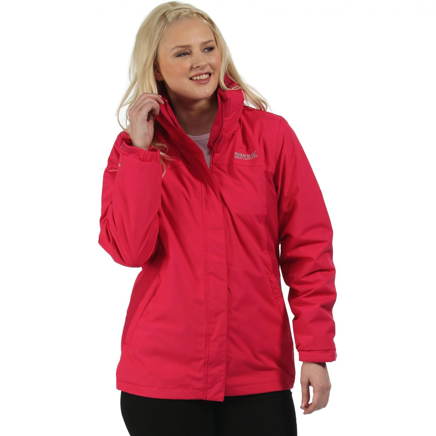 Preya III 3 in 1 Jacket Duchess Cerise