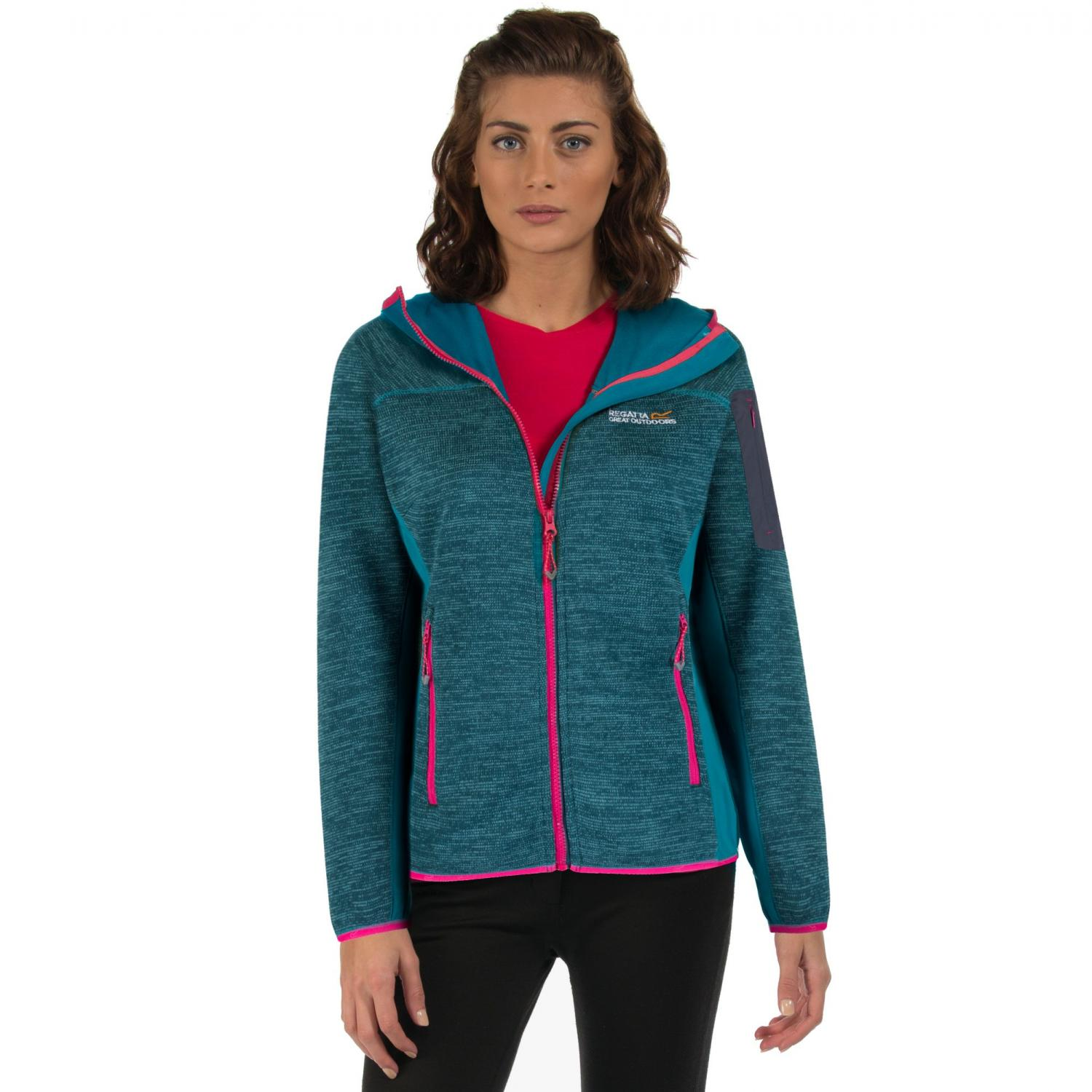 Willowbrook II Hooded Fleece Deep Teal