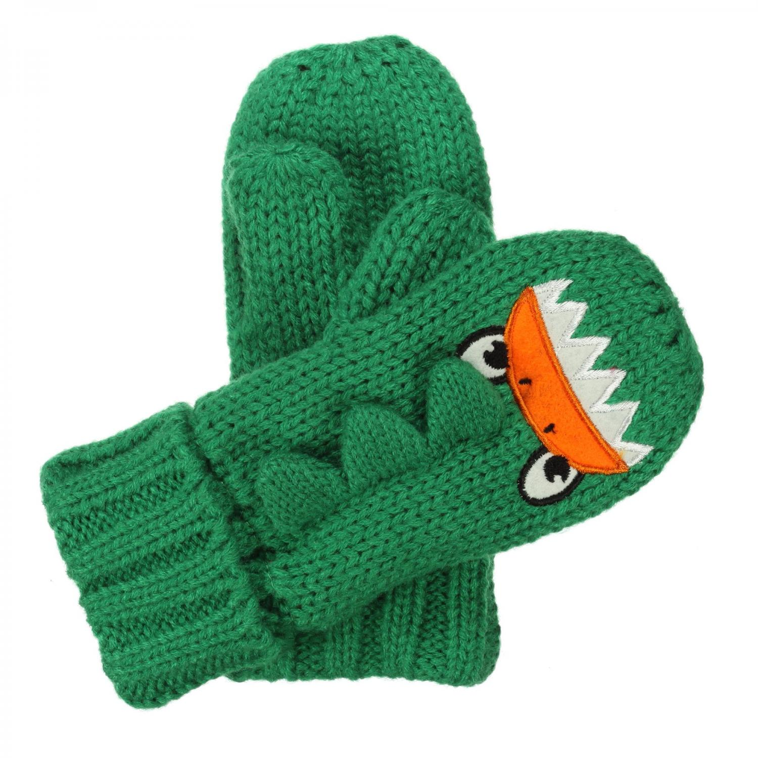 Kids Animally Mitts II Highland Green