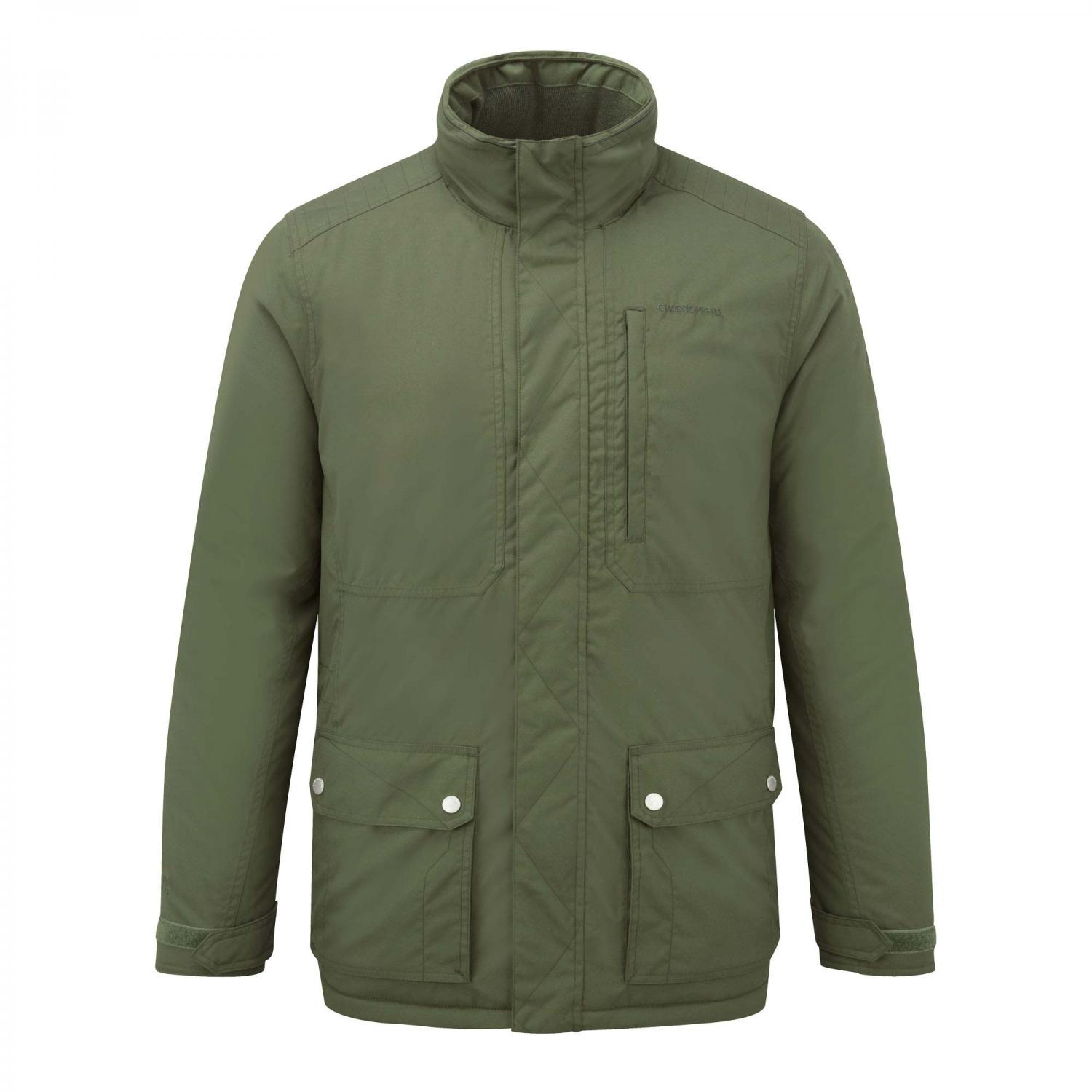 Eldon Plus Jacket Parka Green