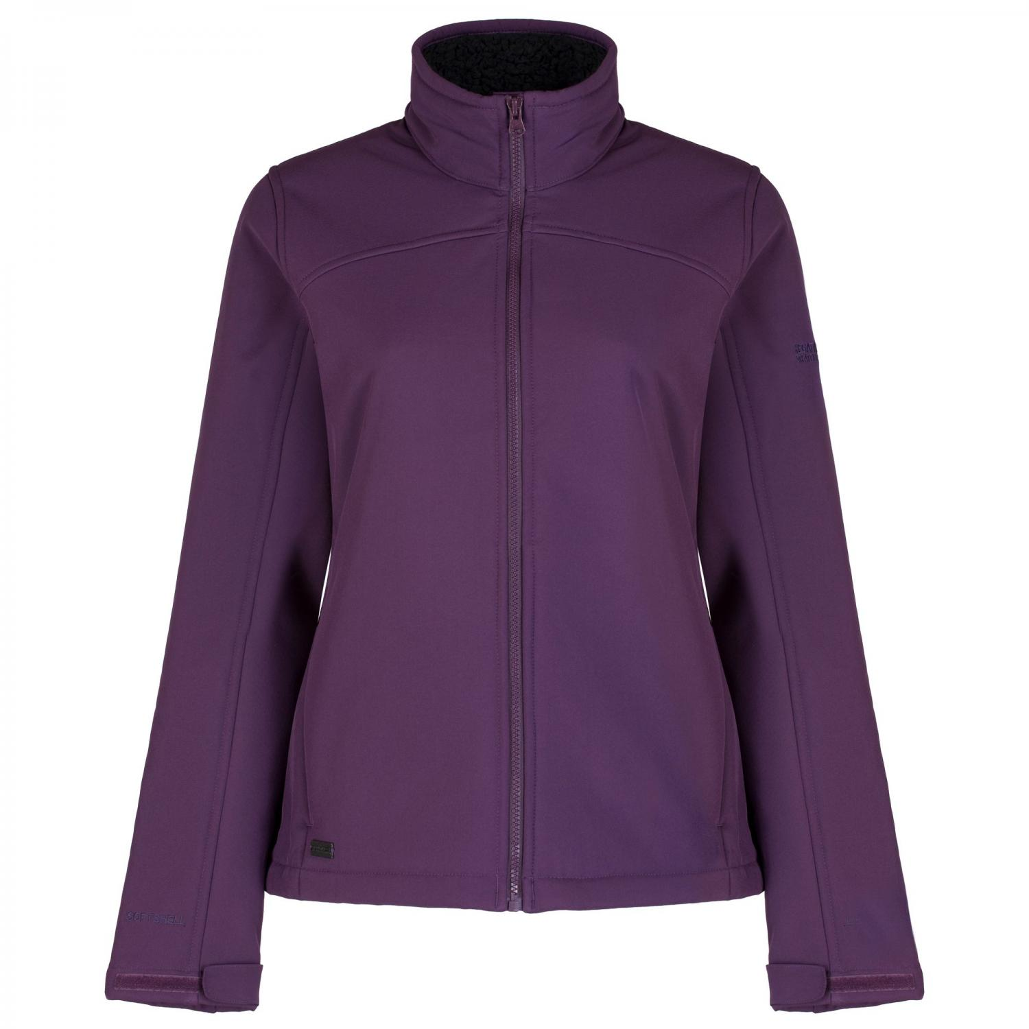 Tulsie Softshell Jacket Blackberry Wine