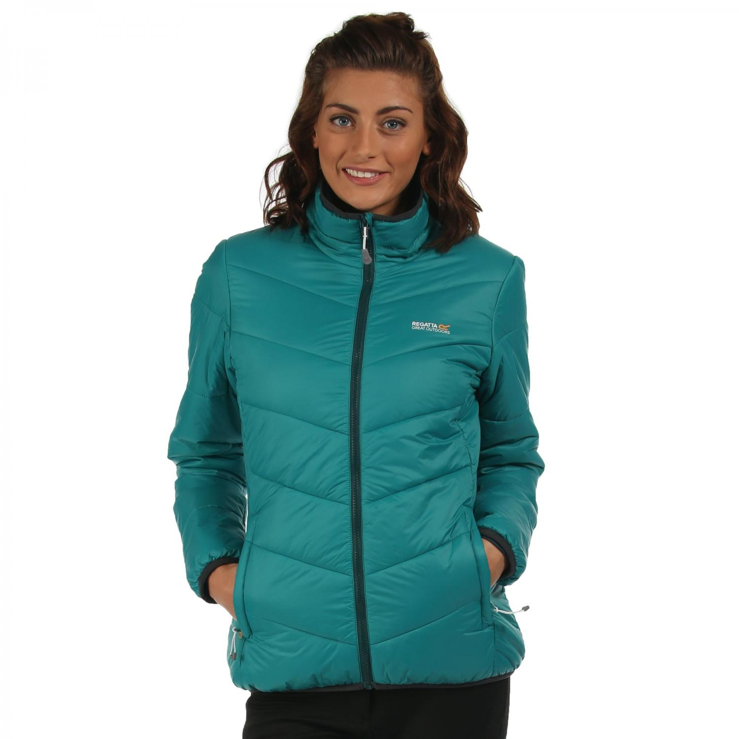 Womens Icebound Jacket Deep Lake