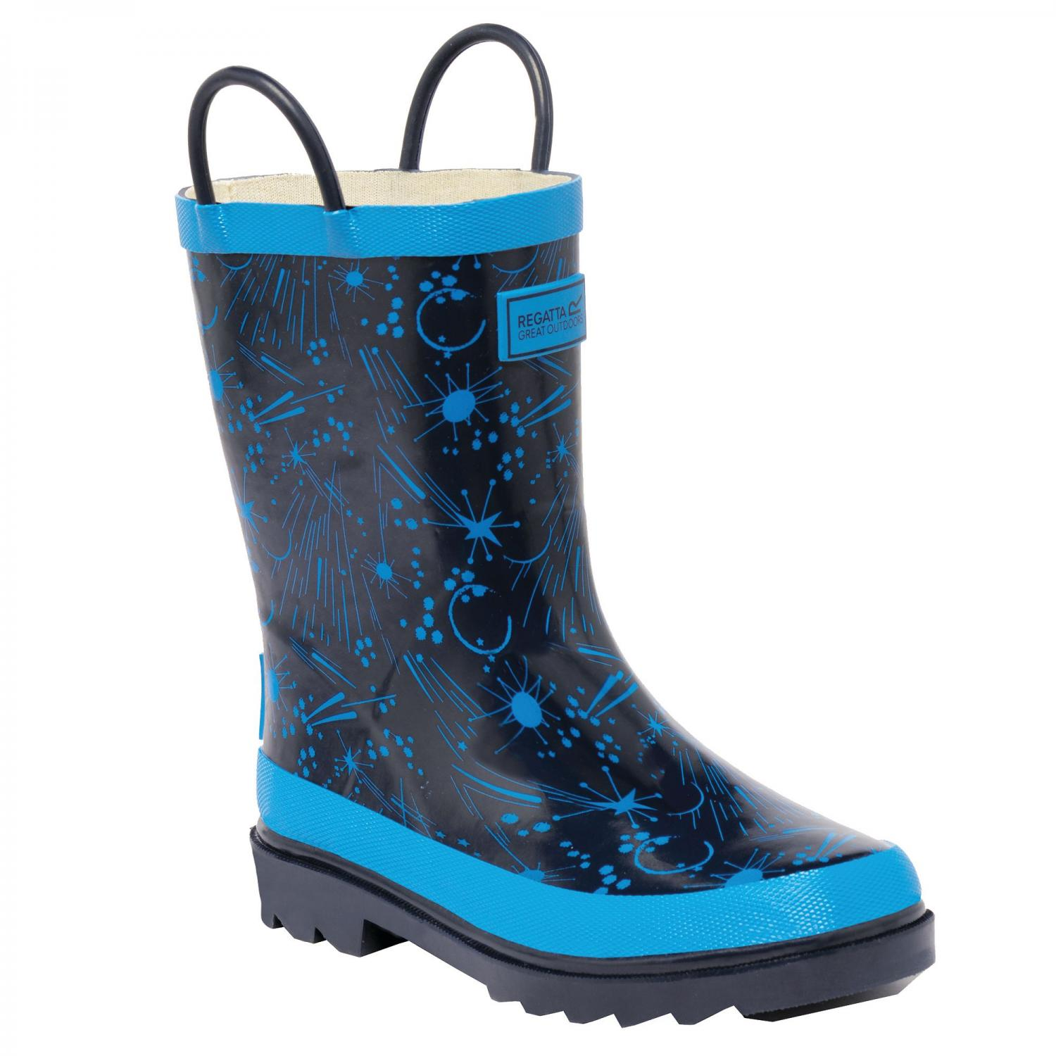 Minnow Junior Wellington Boot Navy Blue