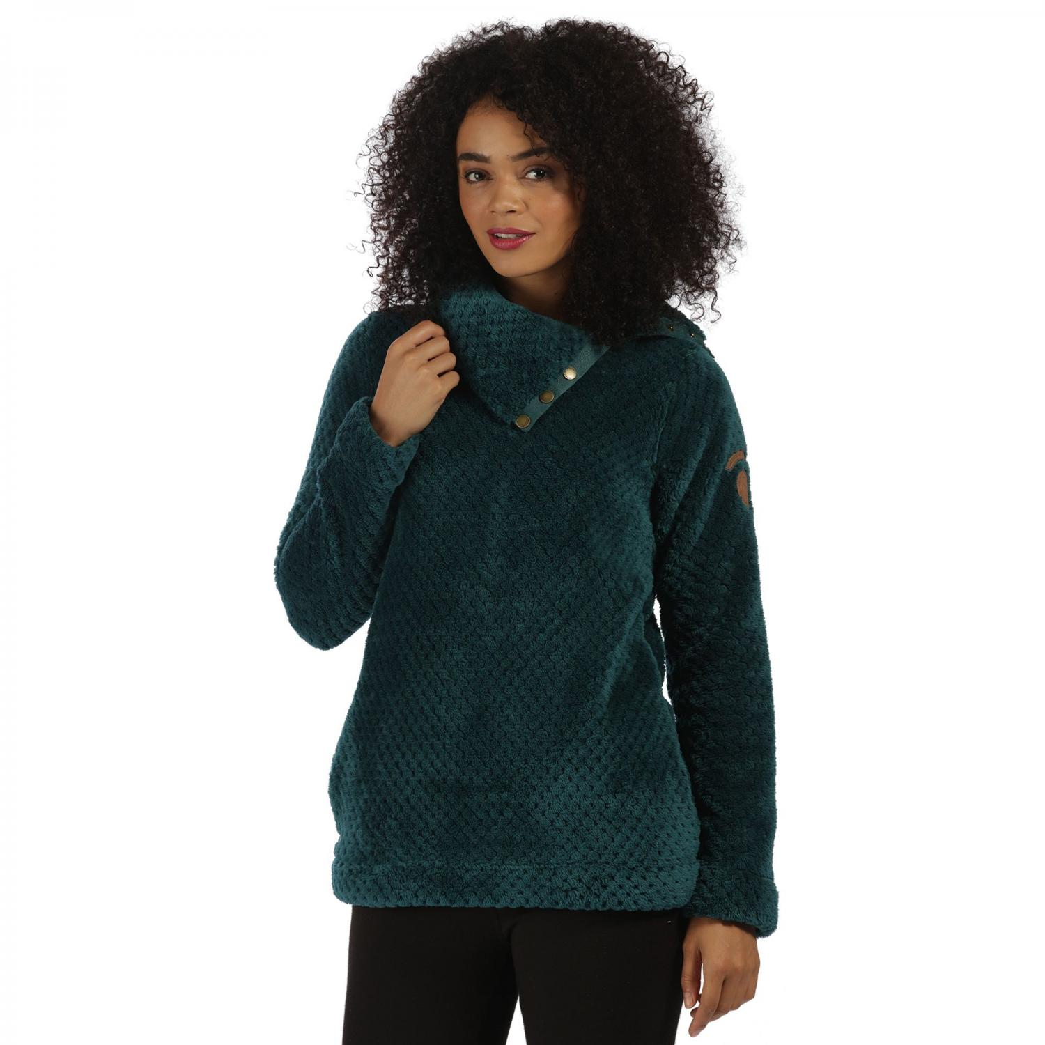 Hera Fleece Deep Teal