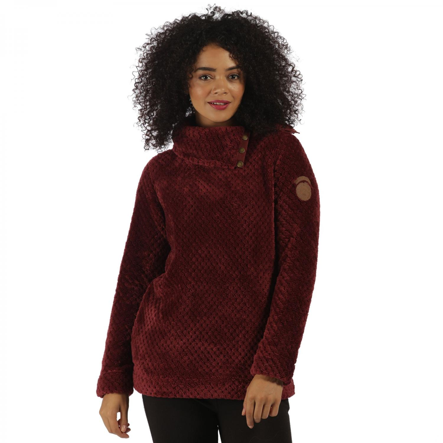 Hera Fleece Spiced Mulberry