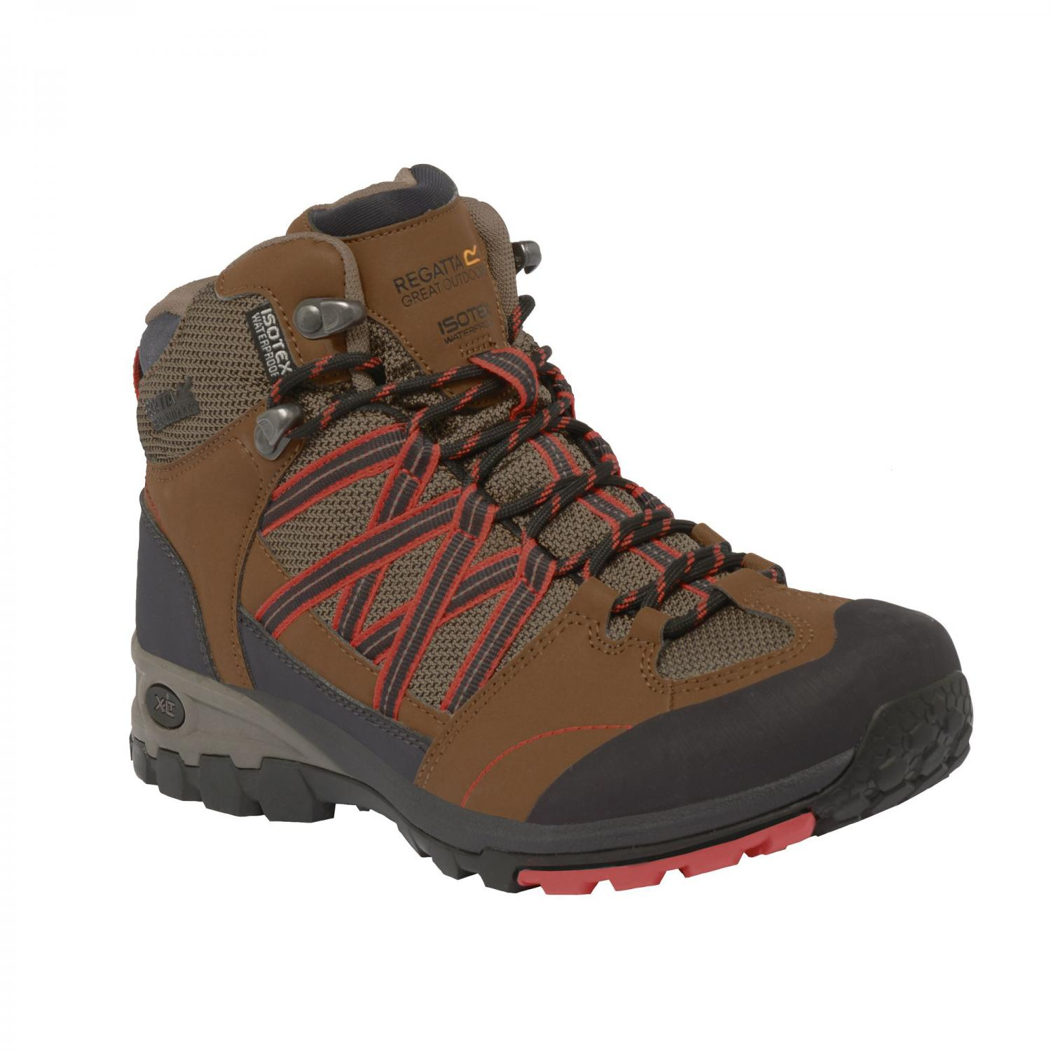 Lady Samaris Mid Hiking Boot Saddle Coral
