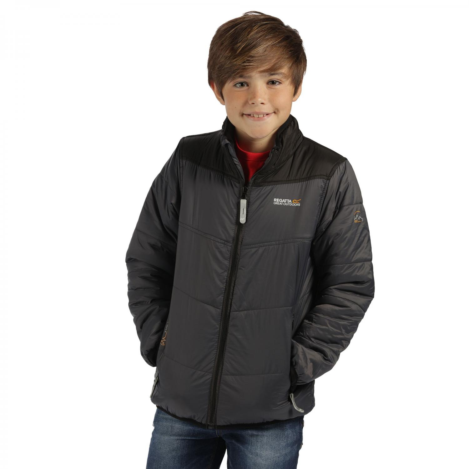 Icebound II Jacket Seal Grey Black