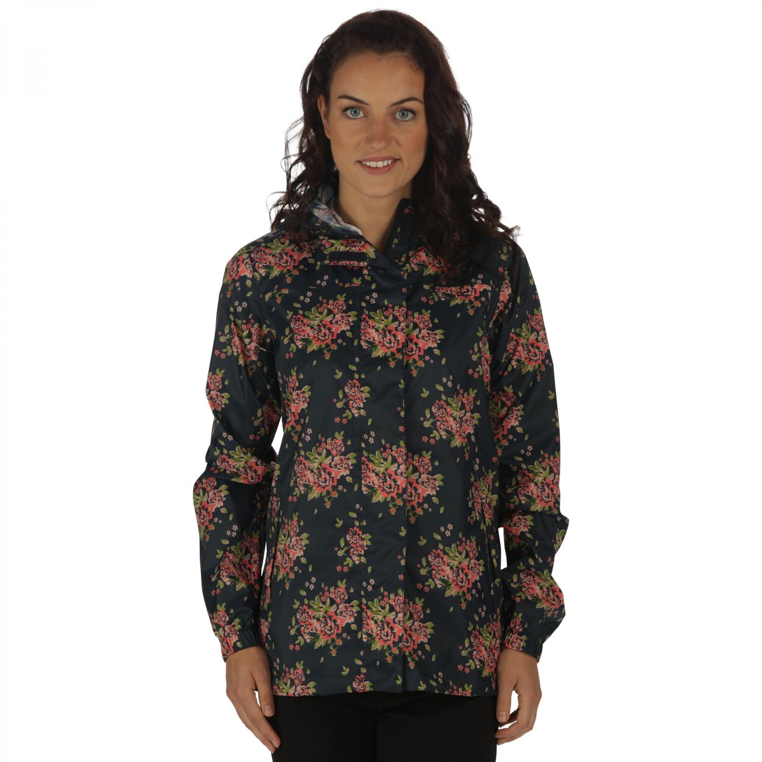 Summer Isolite Jacket Navy Floral