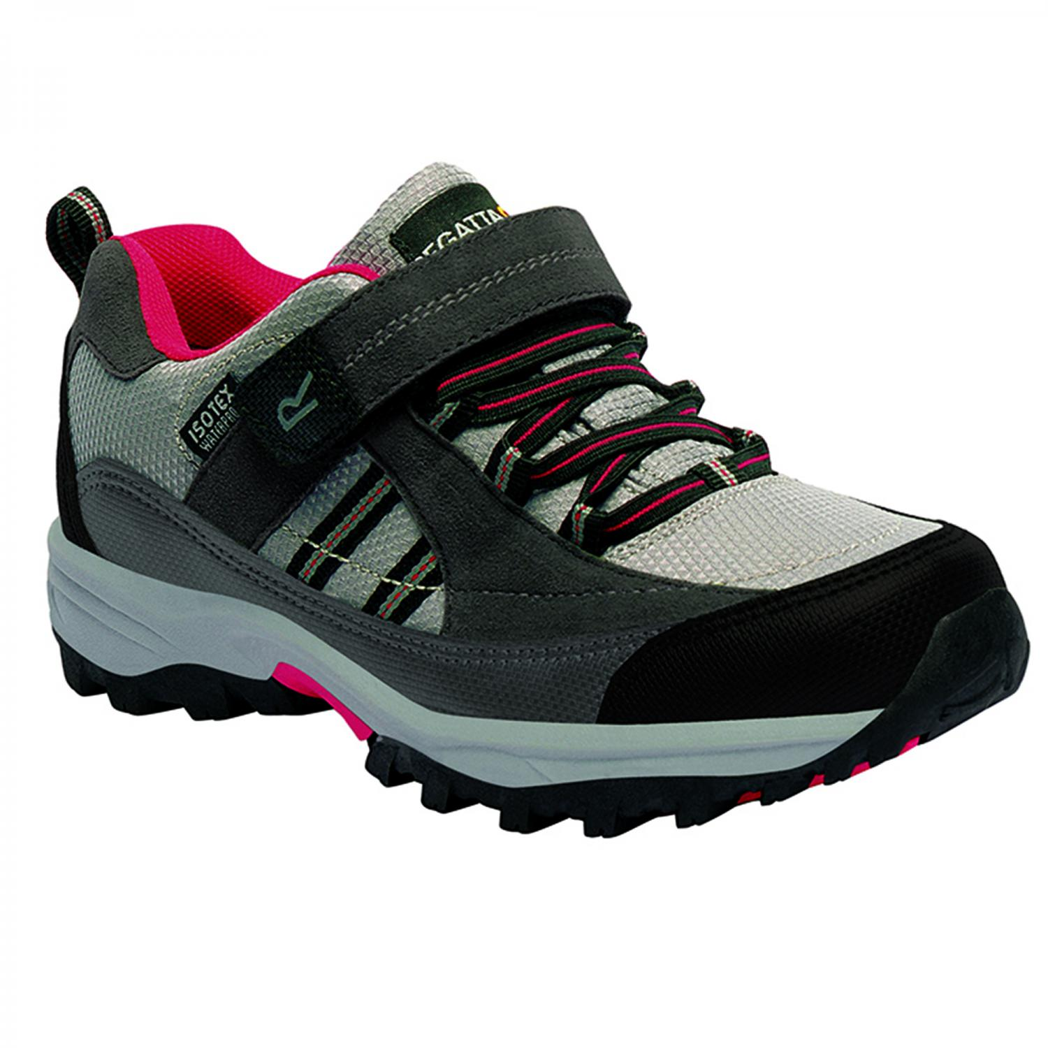 Trailspace II Low Junior Walking Shoe Steel Lollipop