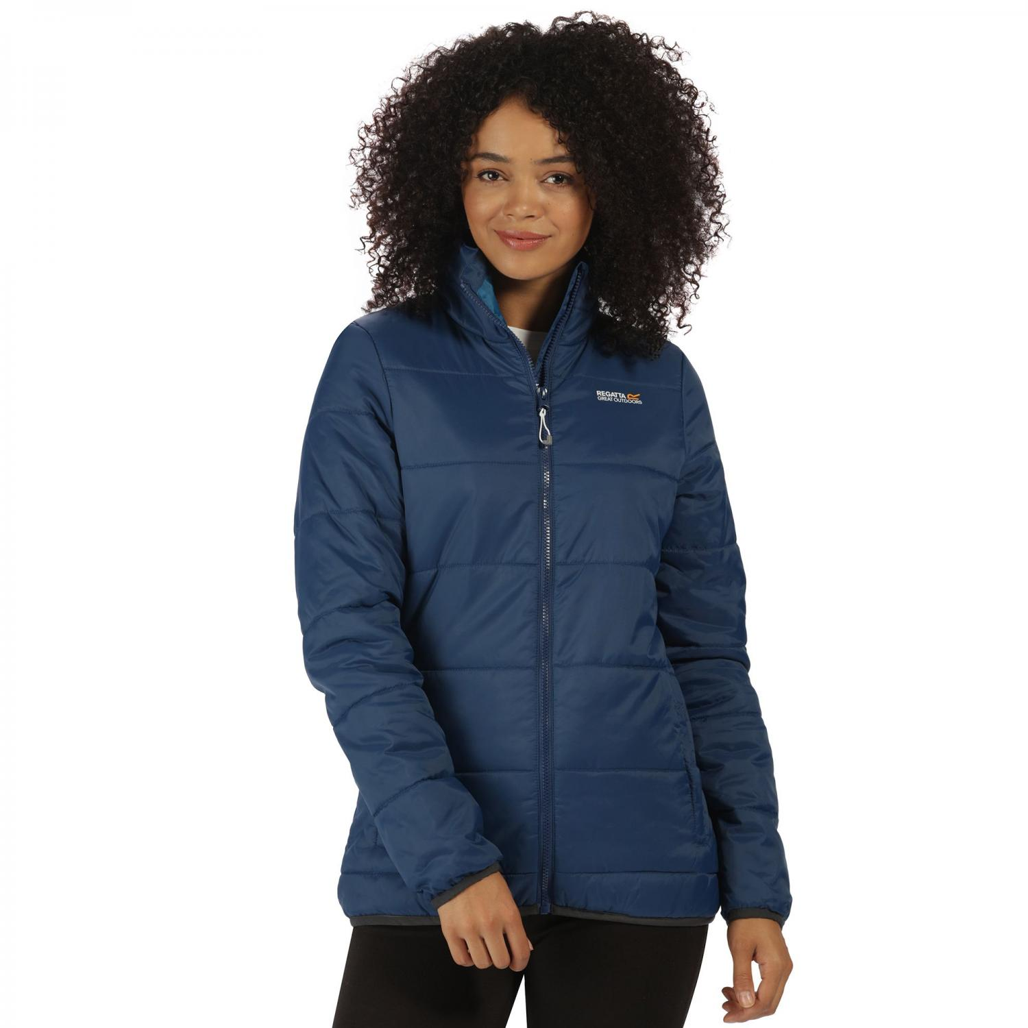 Womens Zyber Jacket Prussian