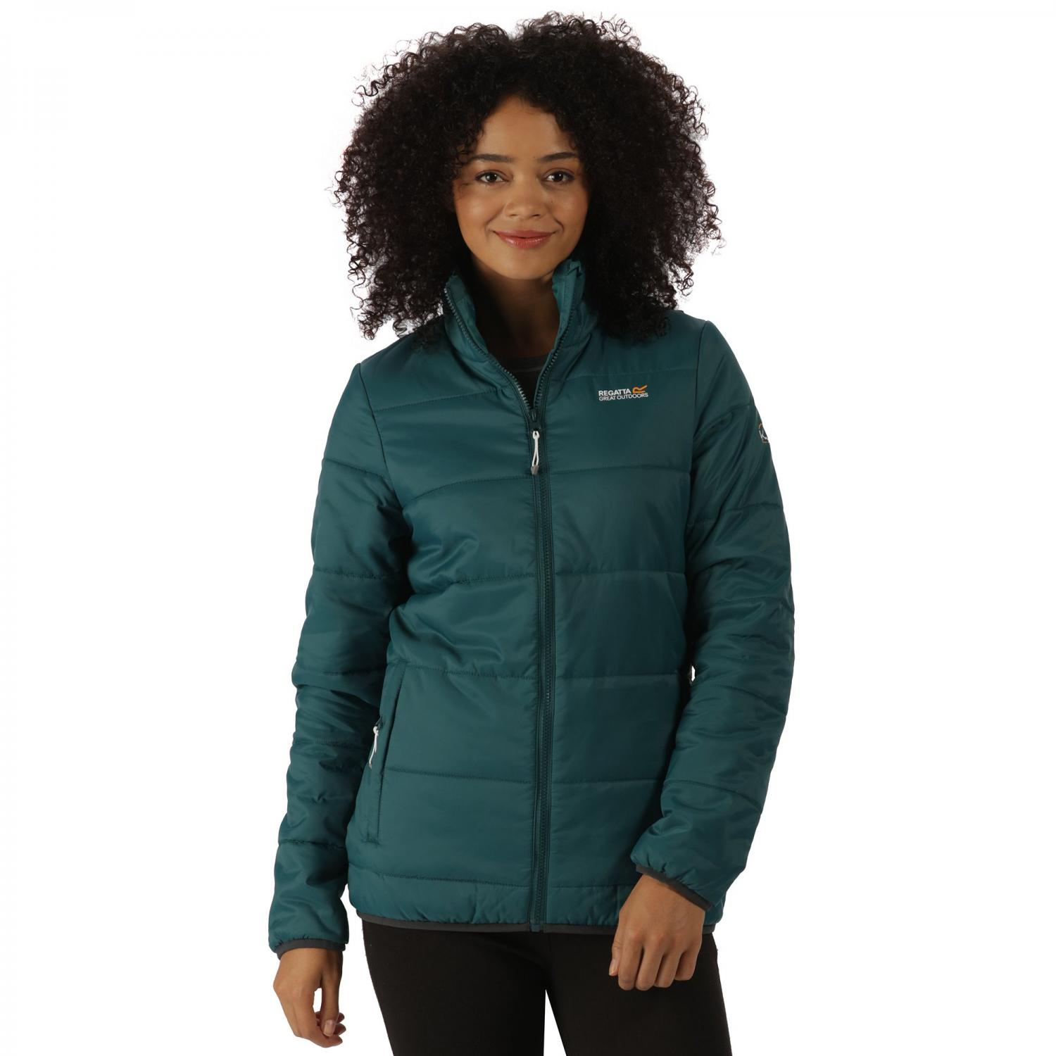 Womens Zyber Jacket Deep Teal