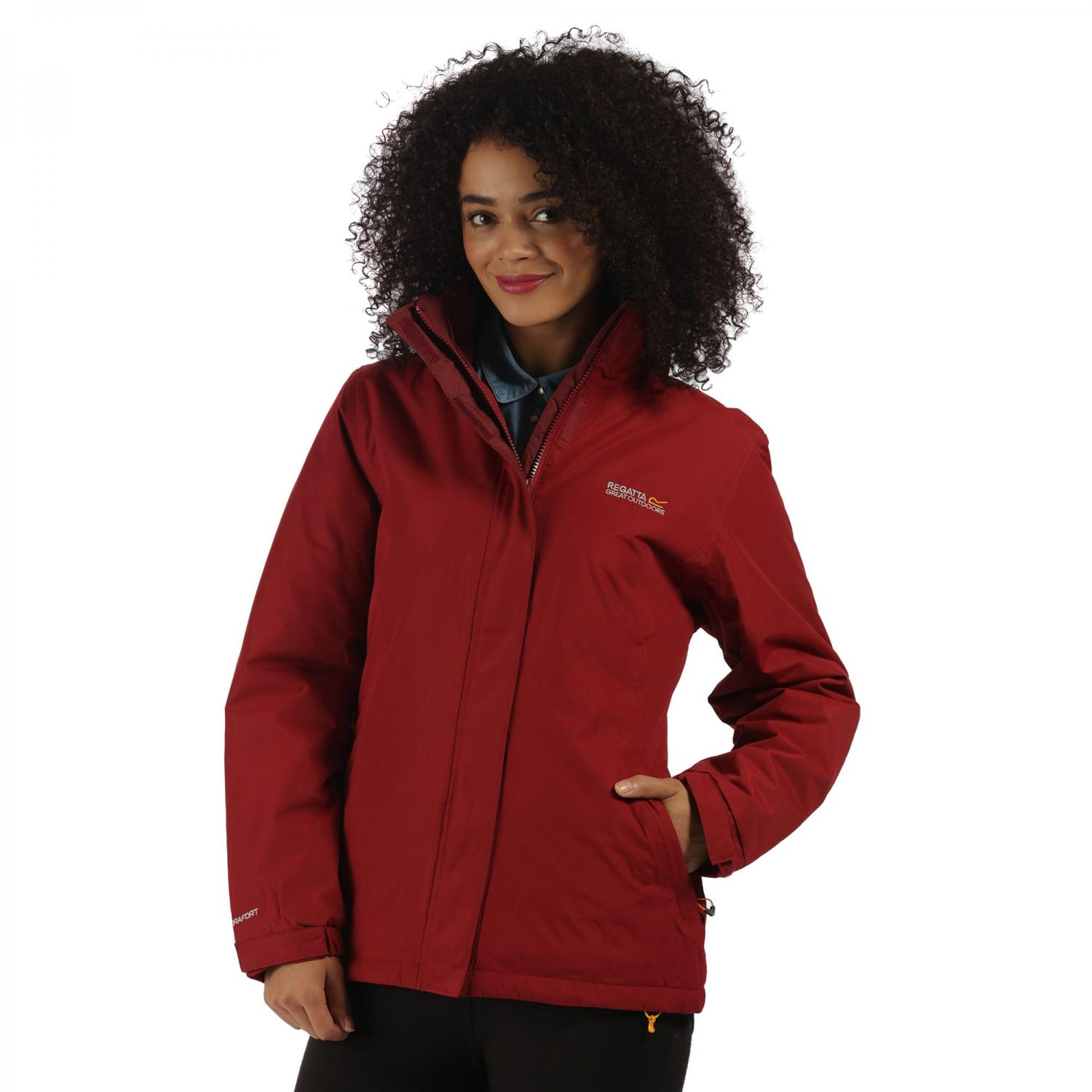 Kenzie Jacket Rhubarb Red