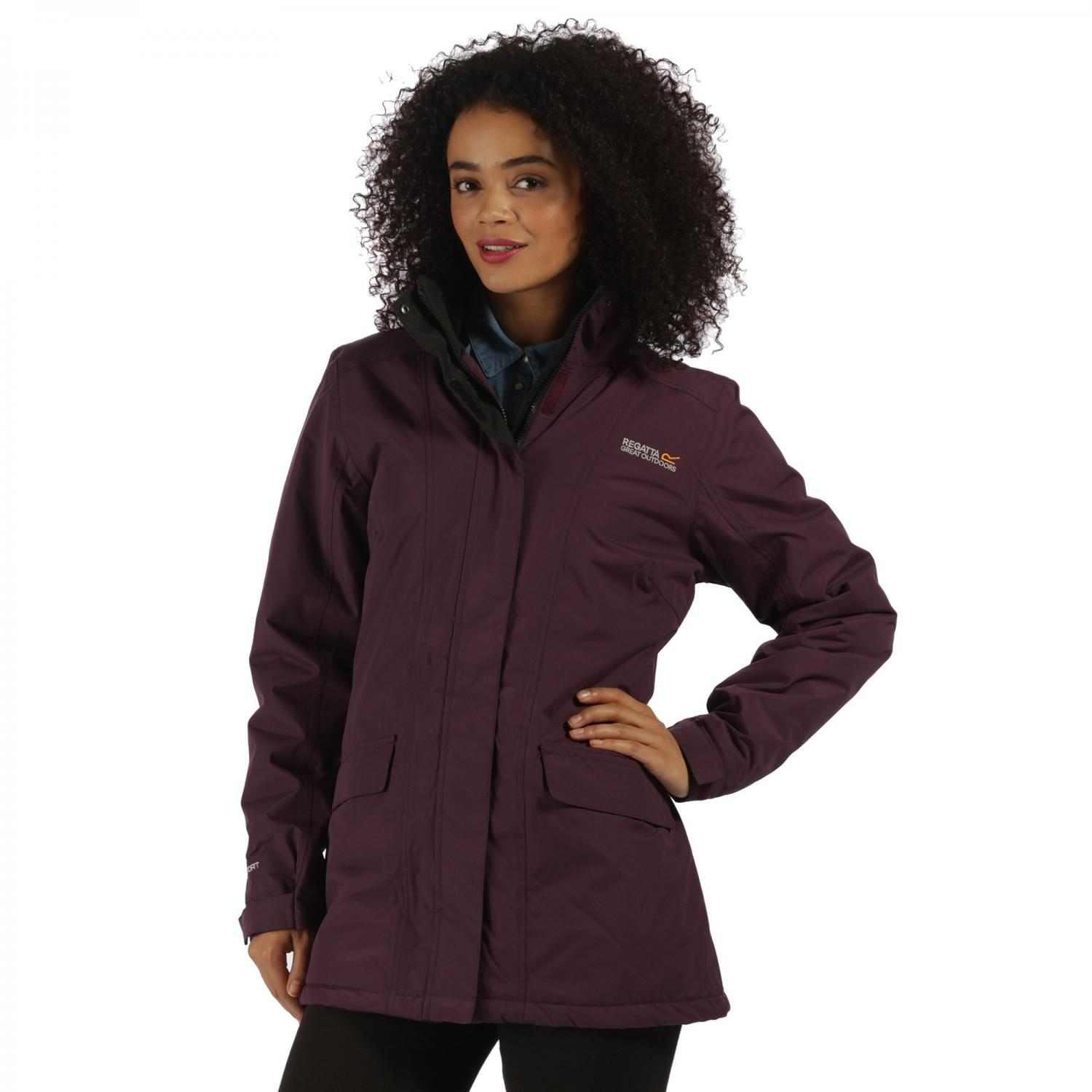 Blanchet Jacket Blackberry Wine