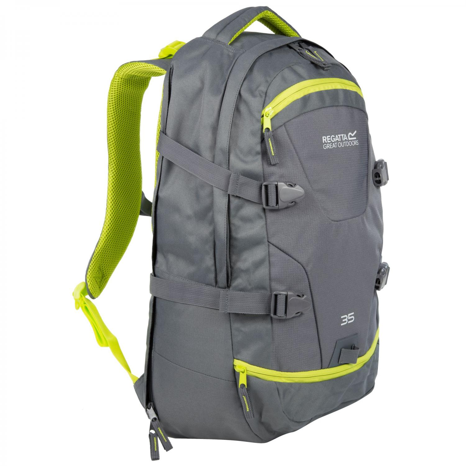 Paladen 35 Litre Laptop Backpack Seal Grey