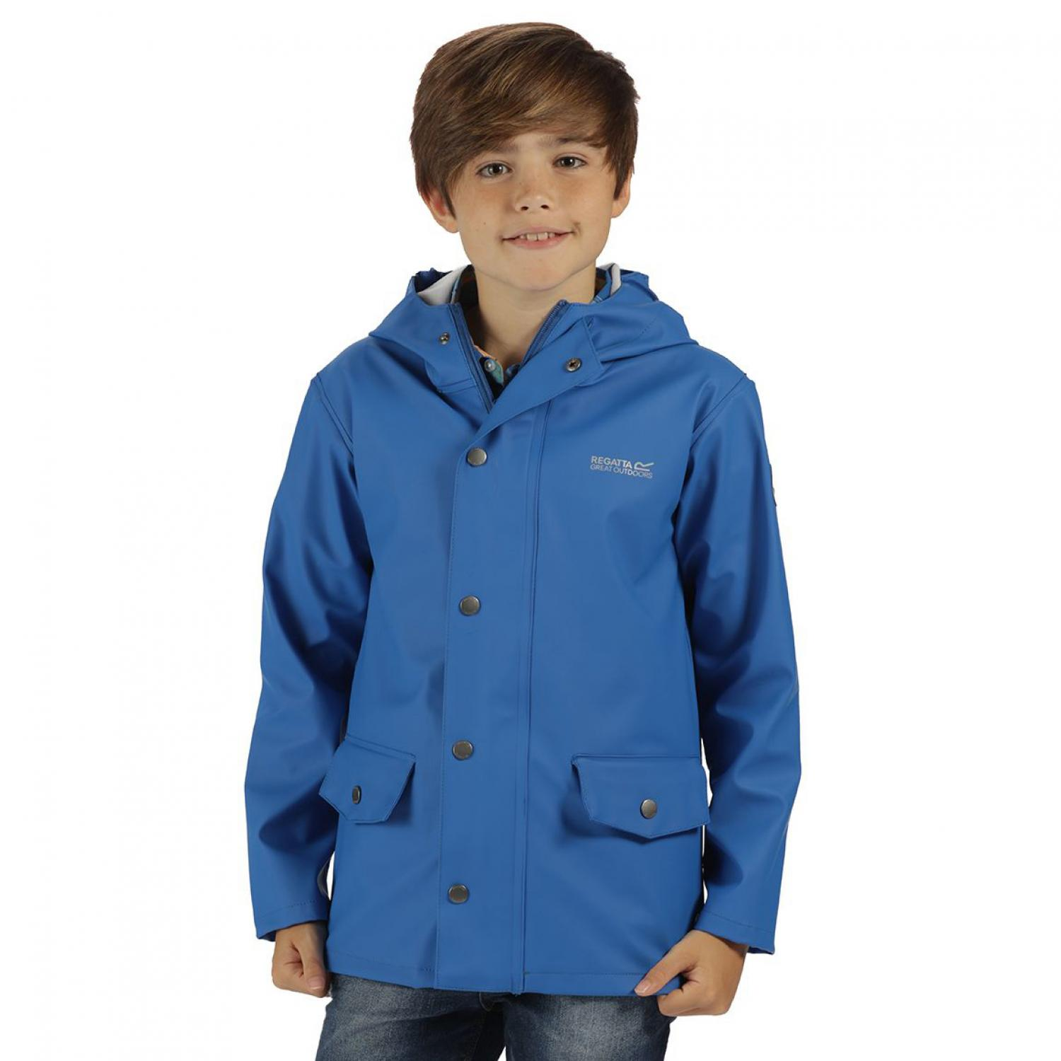 Kids Edrik Jacket Oxford Blue