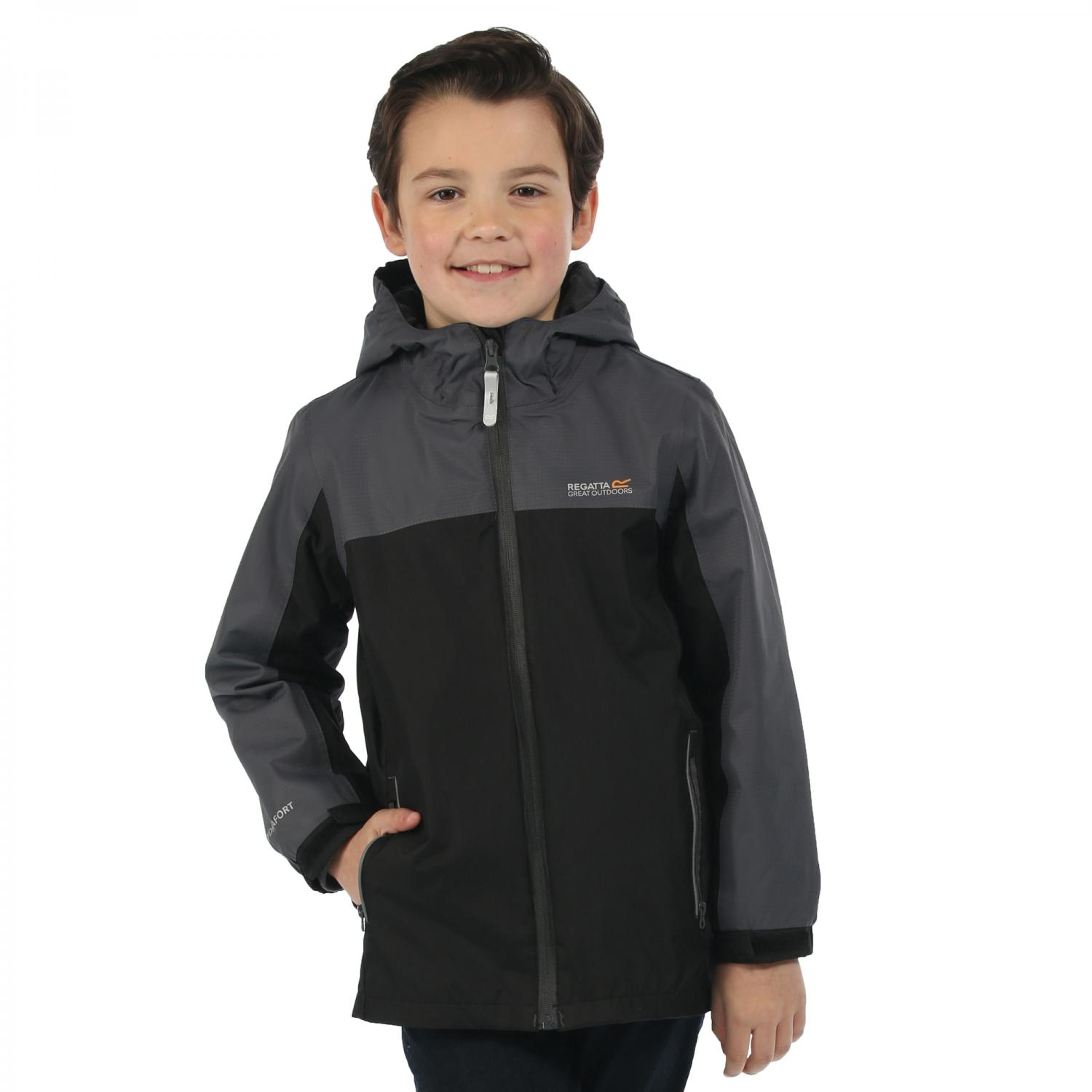 Luca III 3 in 1 Jacket Blk SlG(SlG)