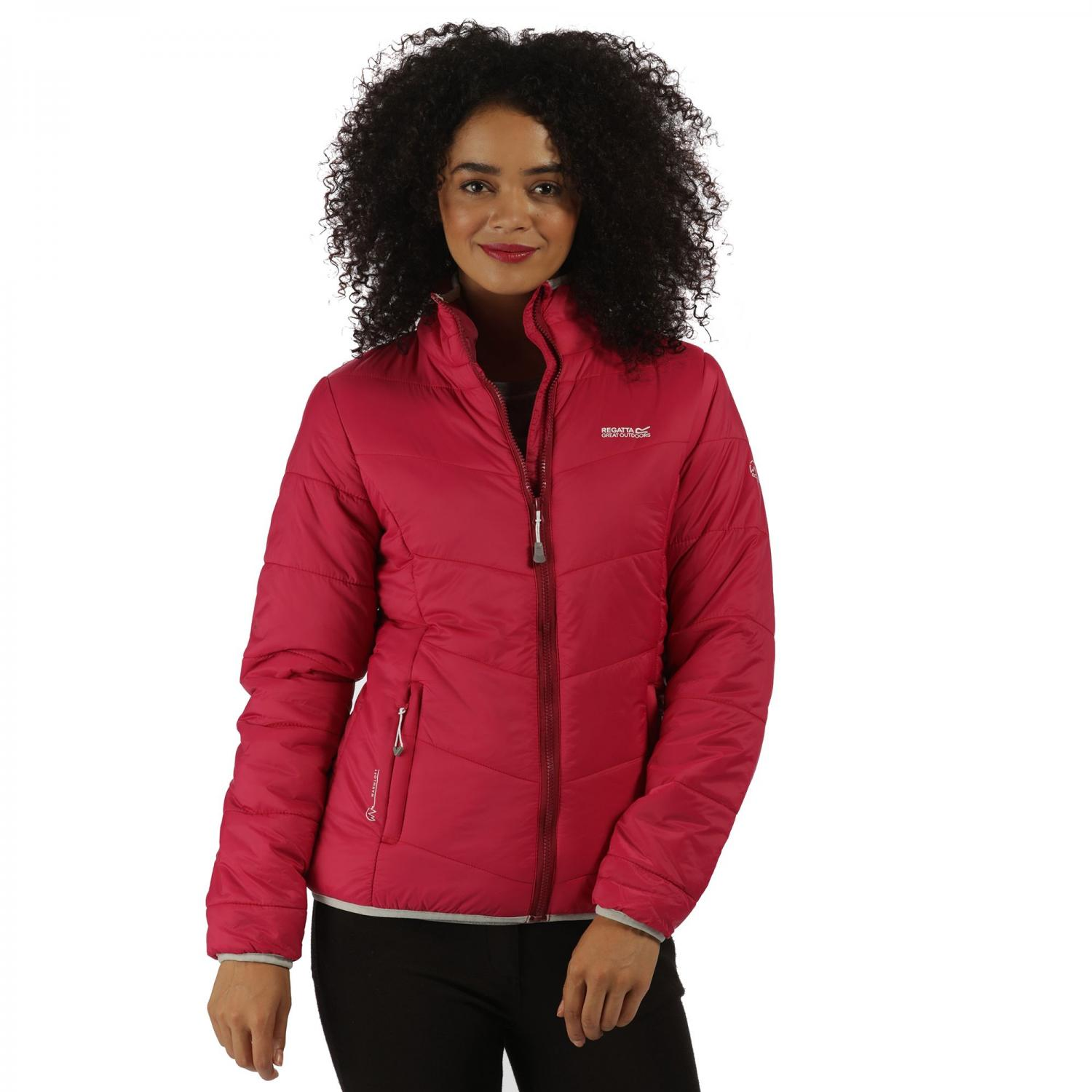Womens Icebound Jacket Dark Cerise