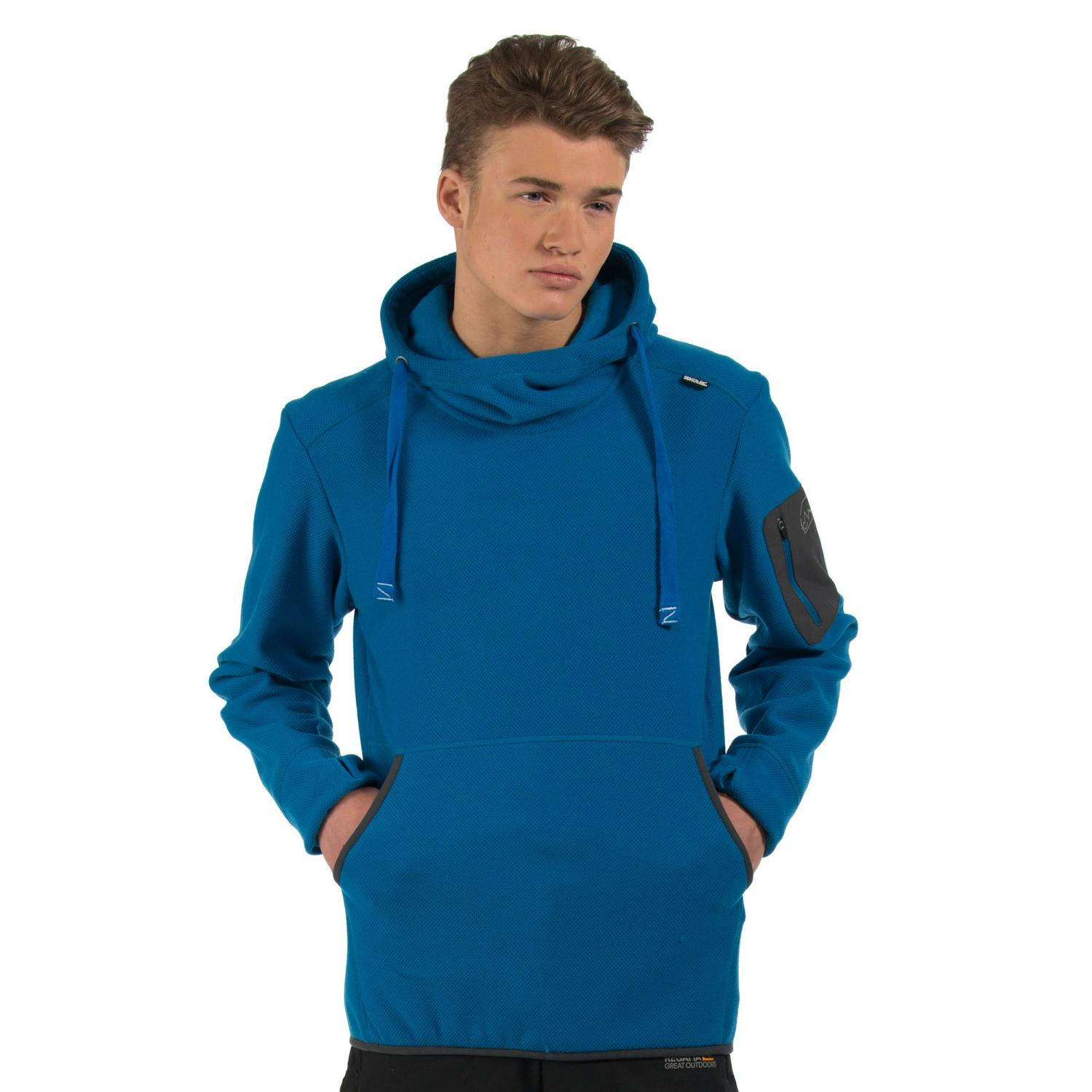 Antero Hooded Fleece Imperial Blue