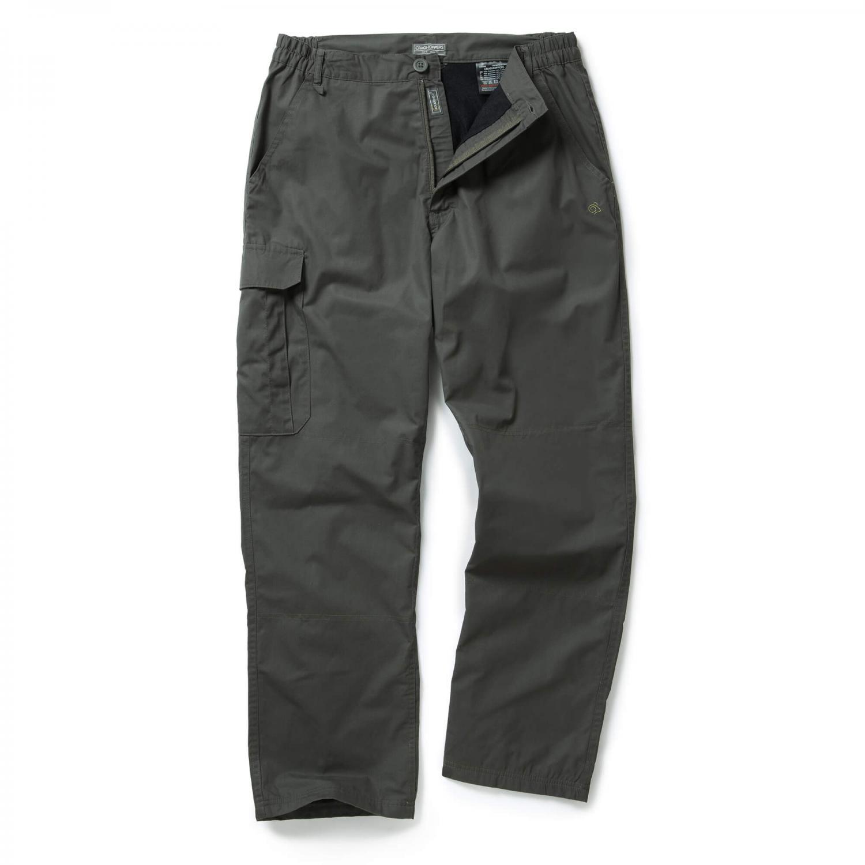 C65 Winter Lined Trousers Dk Khaki