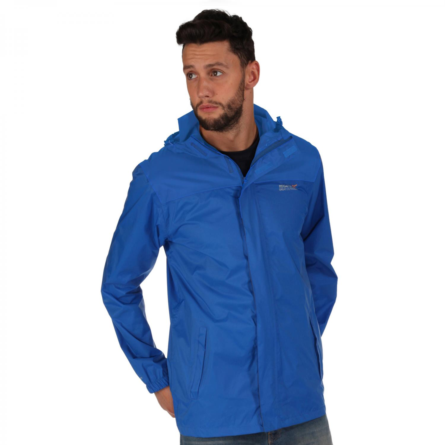 Mens Pack It Jacket II Oxford Blue