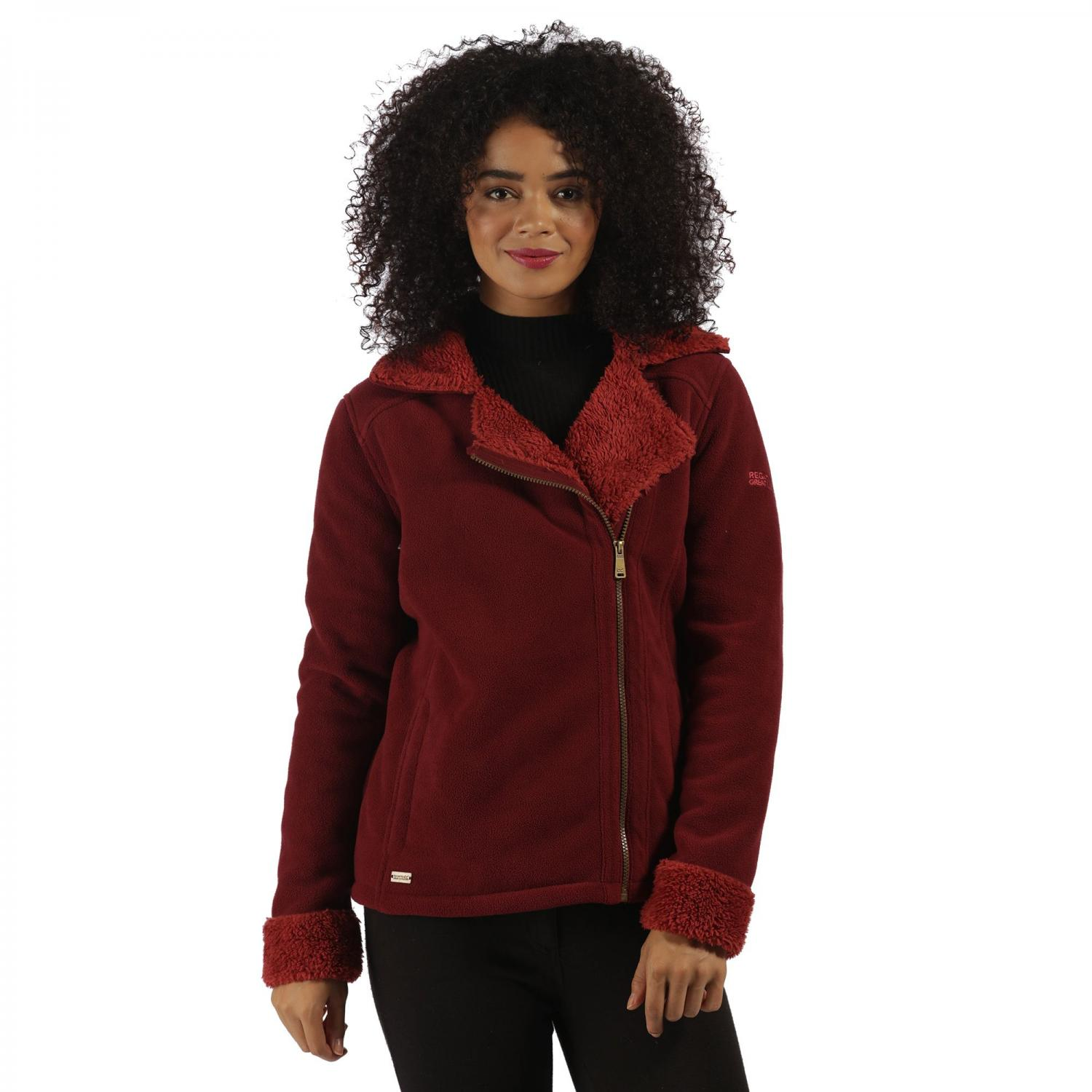Bernetta Fleece Spiced Mulberry