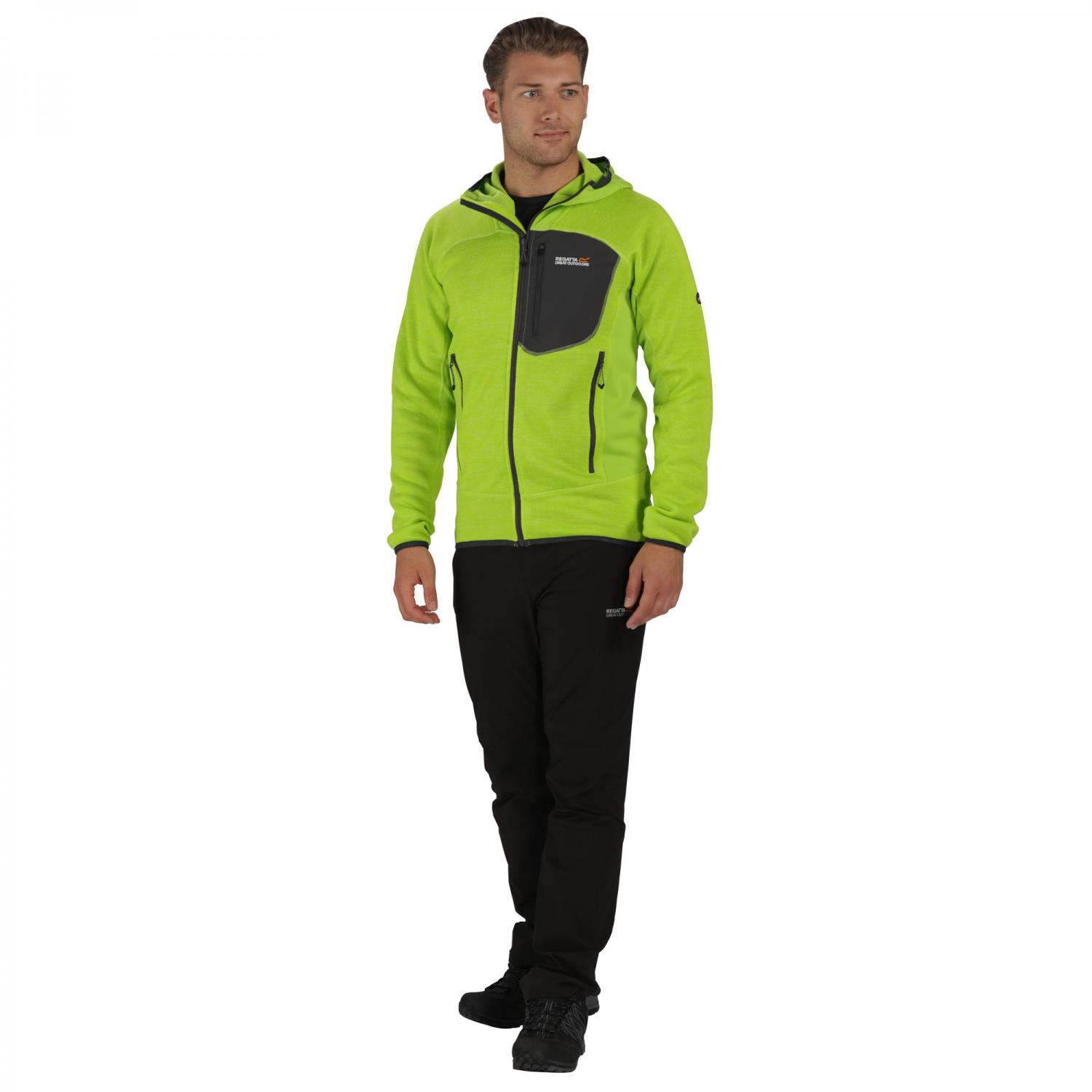 Cartersville III Hooded Fleece Lime Green