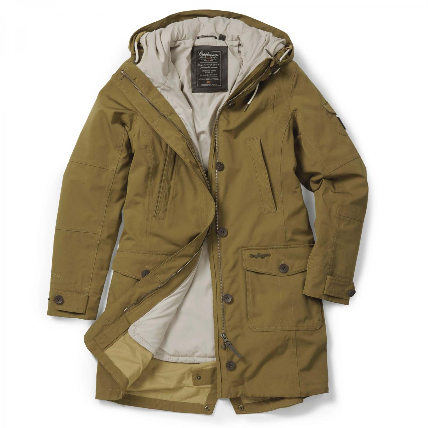 Image of 364 3 in 1 Jacket Old Gold Almond
