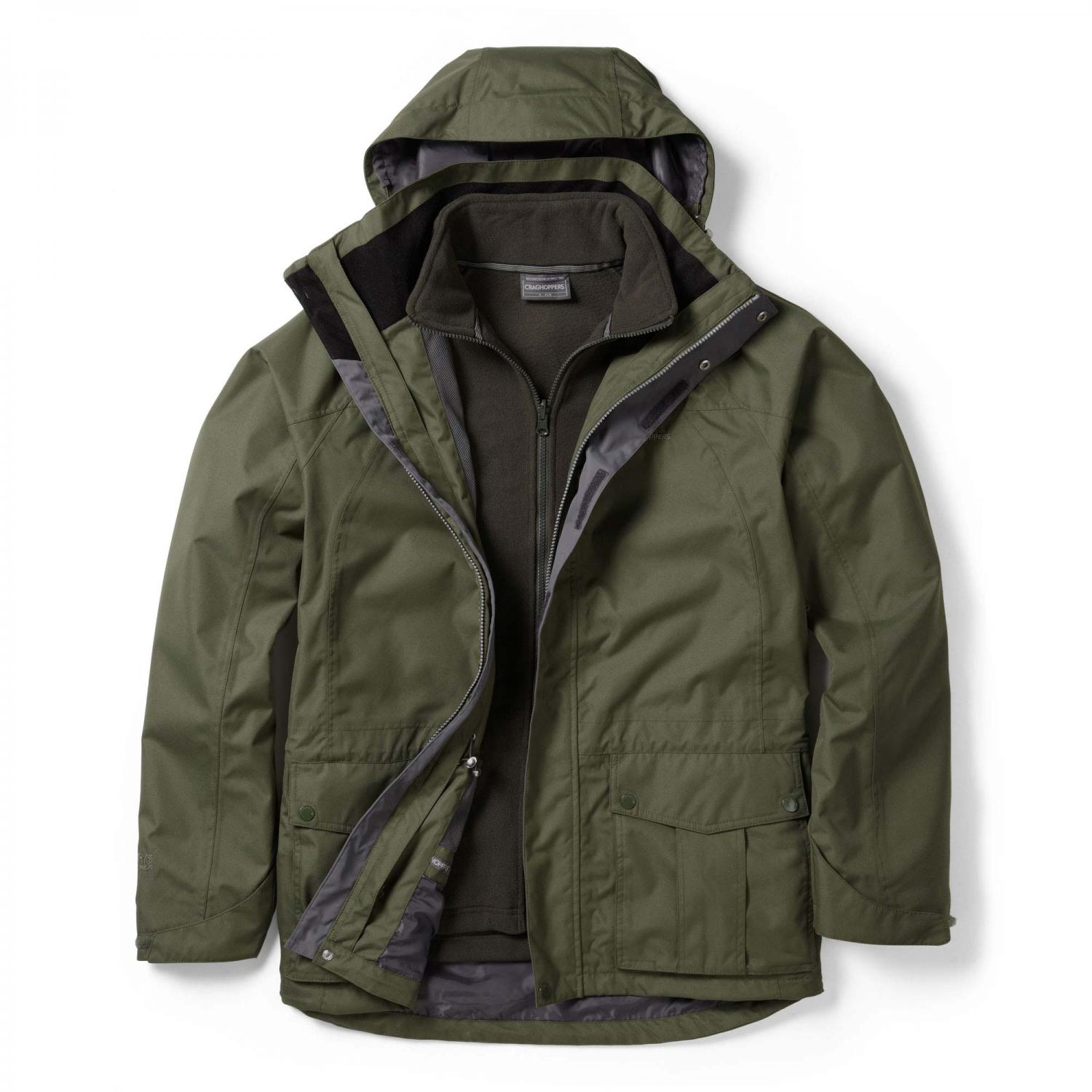 Kiwi 3 in 1 Jacket Parka Green