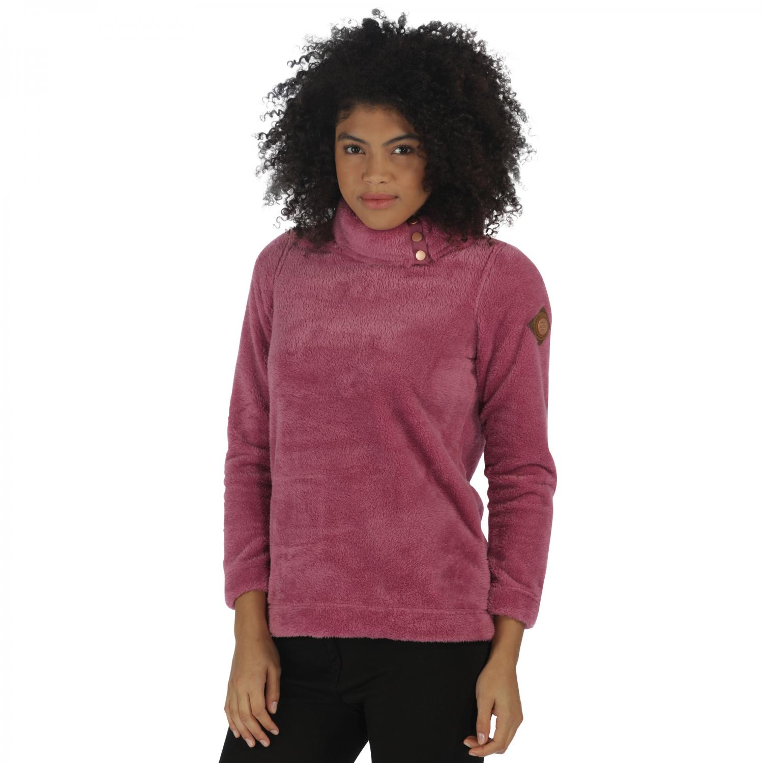 Odella Fleece Red Violet