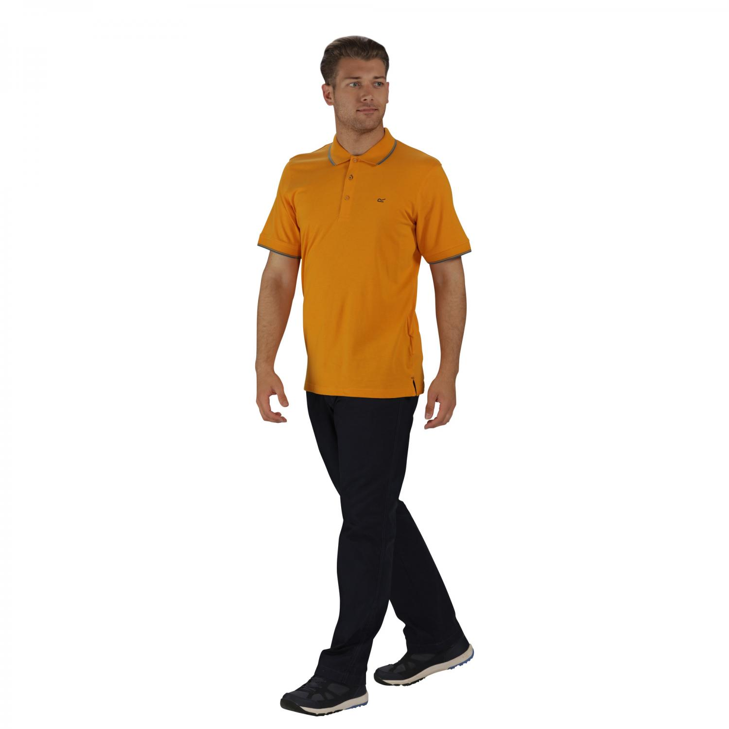 Kaine Polo Shirt Butterscotch