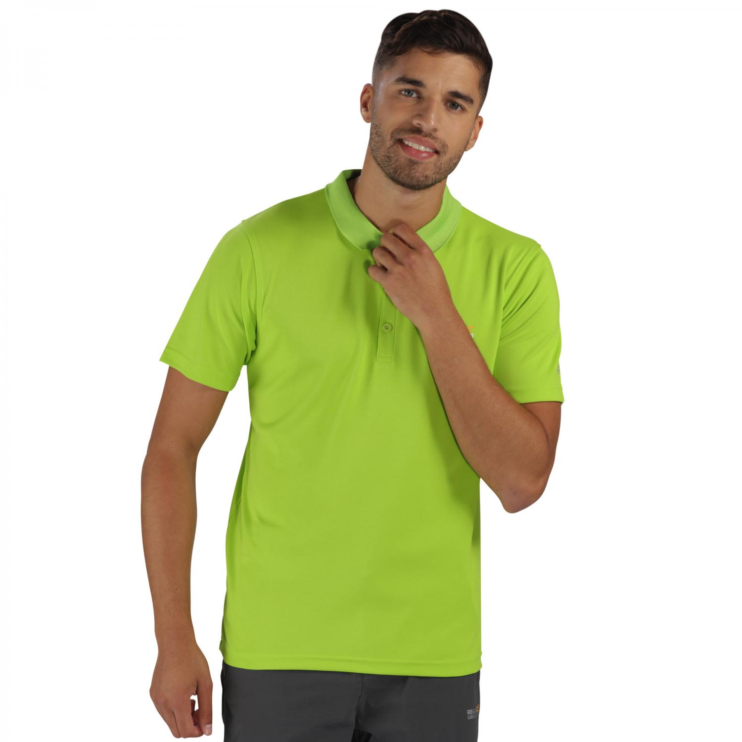 Maverik III Polo Shirt Lime Green