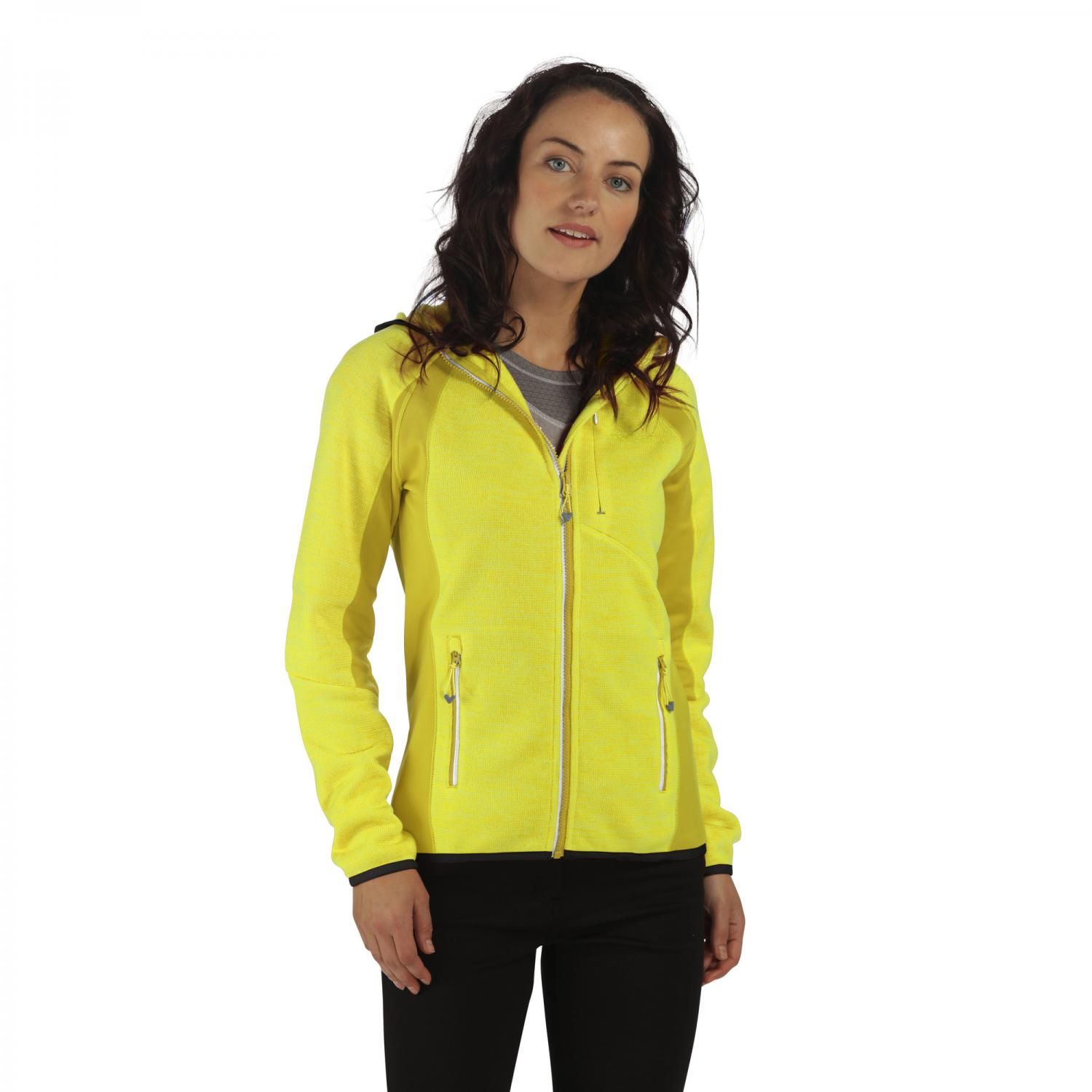 Willowbrook III Hooded Fleece Limetta